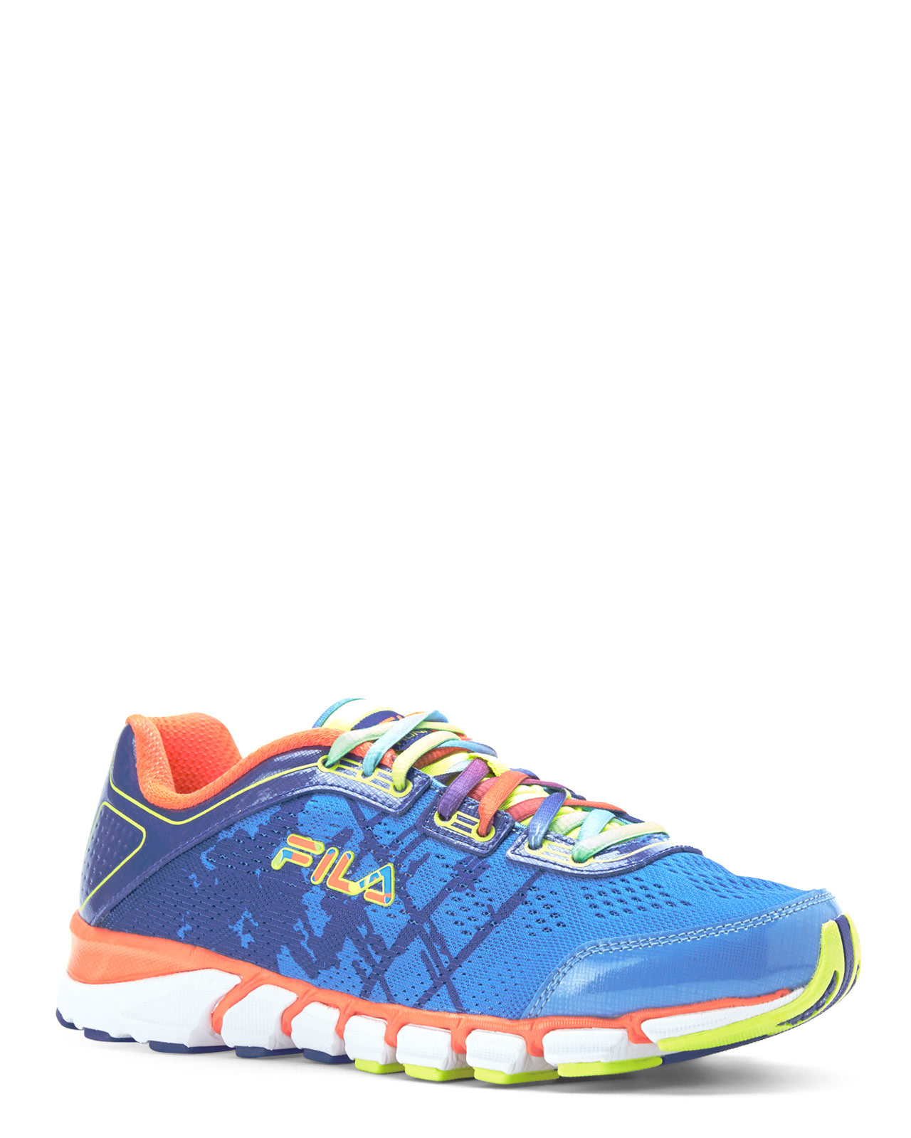 Fila Blue & Coral Turbo Fuel Energized Sneakers