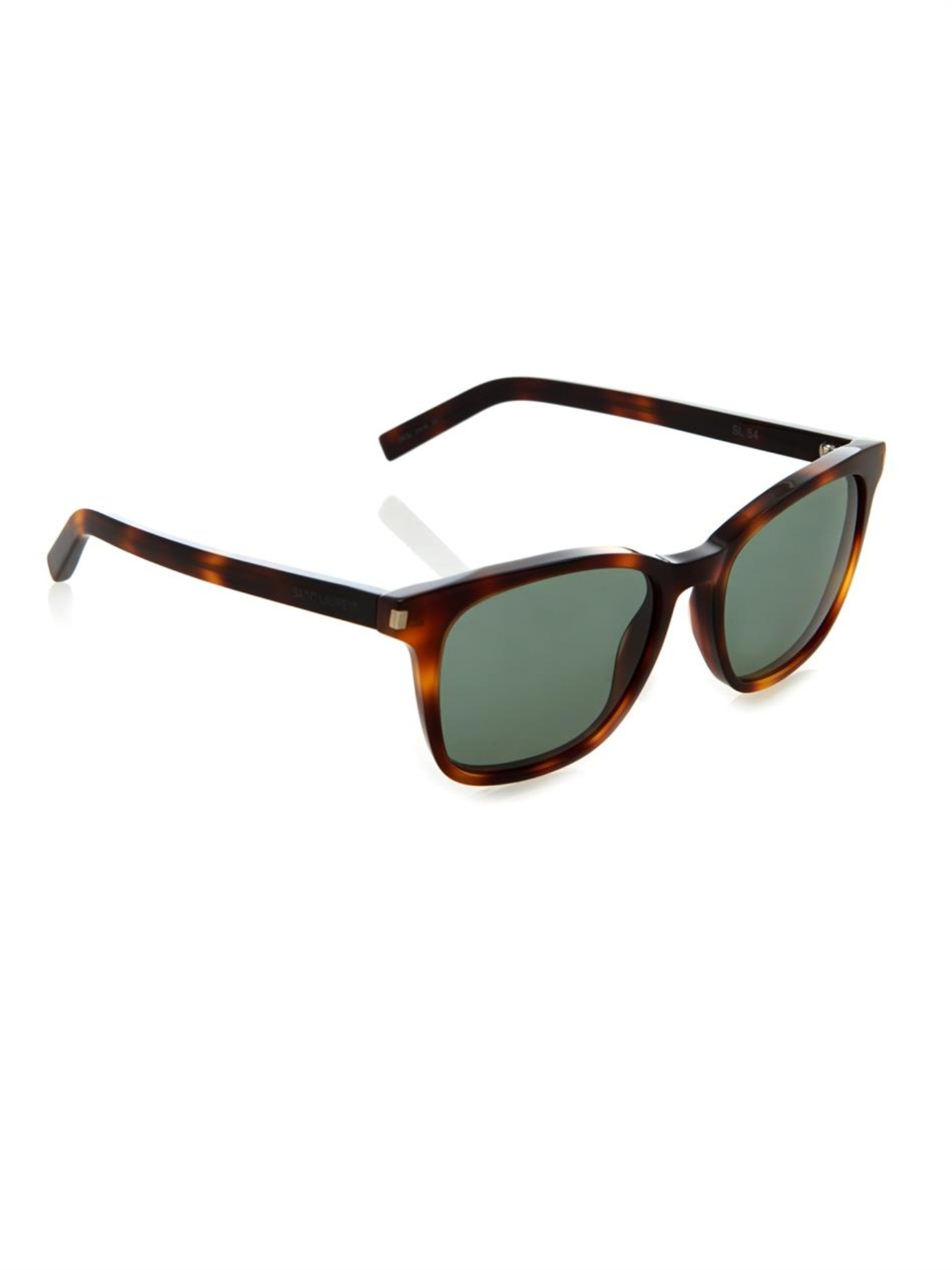 rectangulares Saint Laurent Eyewear Carey Gafas 6aqYf86w