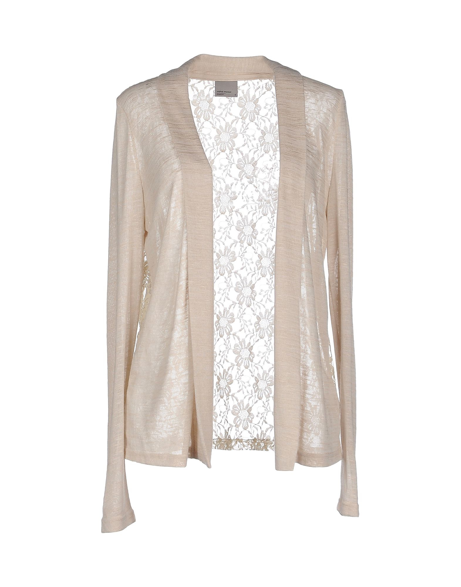 vero moda mantel beige vero moda cardigan in beige lyst vero moda full length jacket in beige. Black Bedroom Furniture Sets. Home Design Ideas
