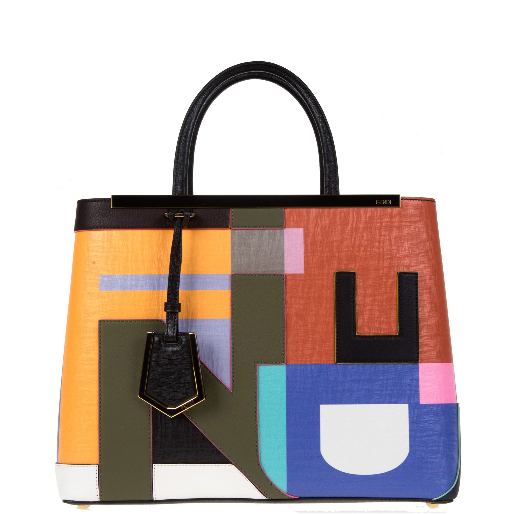 3863148c30 ... purchase fendi 2jours leather bag lyst 16aff 195da