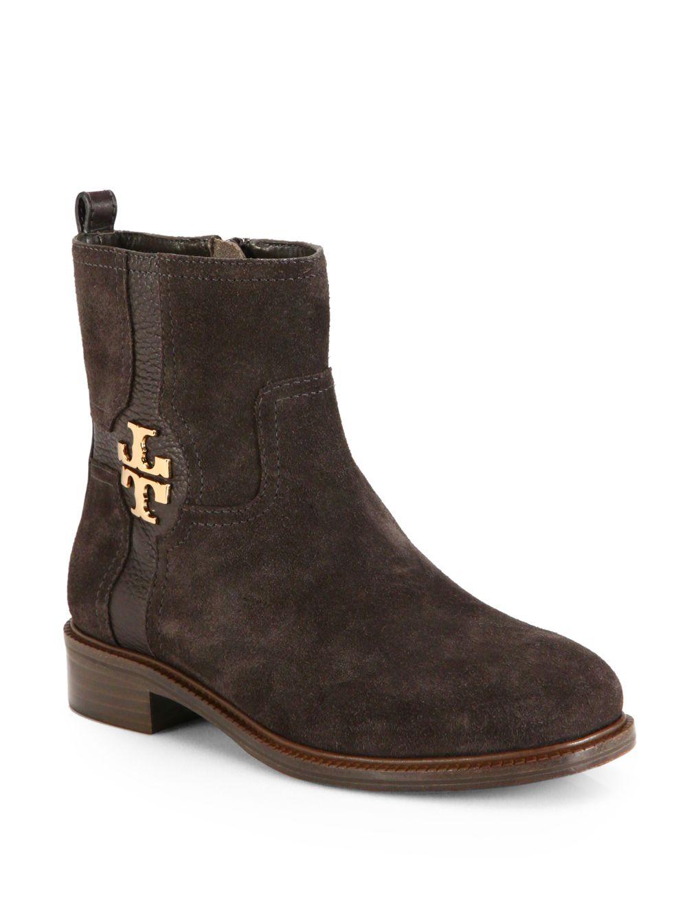 Black Flat Shoes Tory Burch