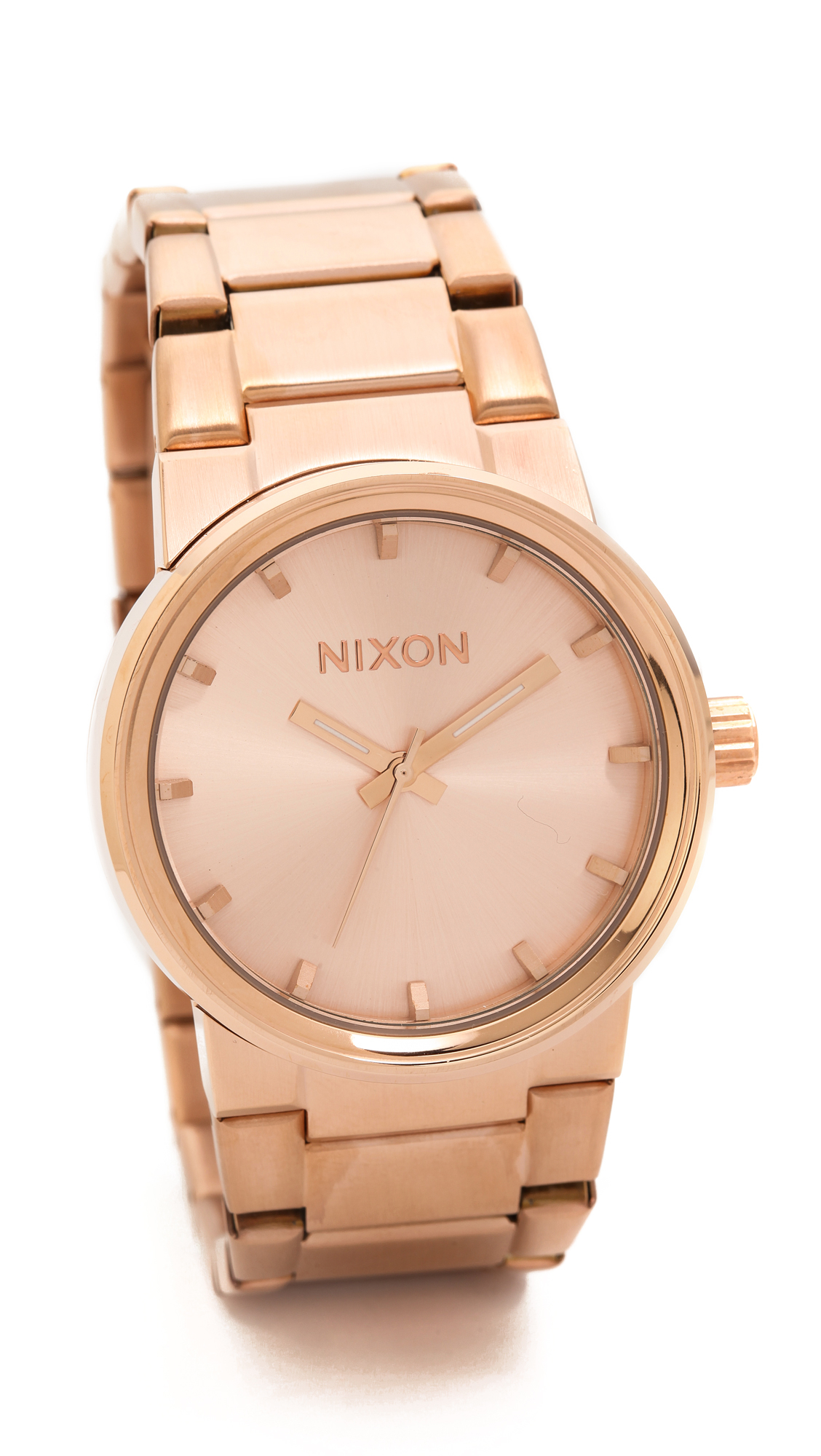 Nixon Cannon Watch - Rose Gold in Pink (Rose Gold) | Lyst