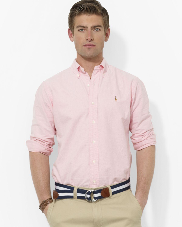 Polo Ralph Lauren Pink Dress Shirt Bcd Tofu House