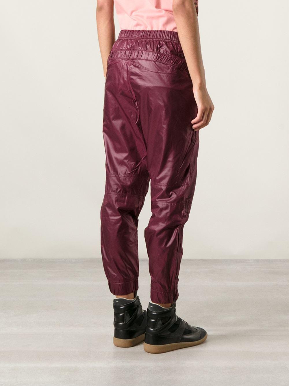 lyst adidas by stella mccartney drawstring track pants