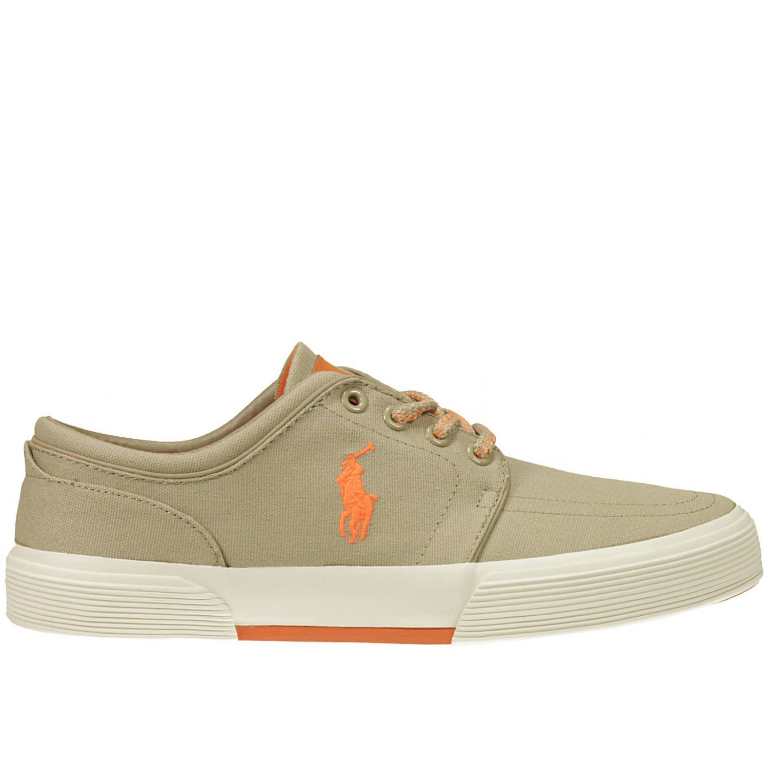 polo ralph s sneakers in gray for lyst