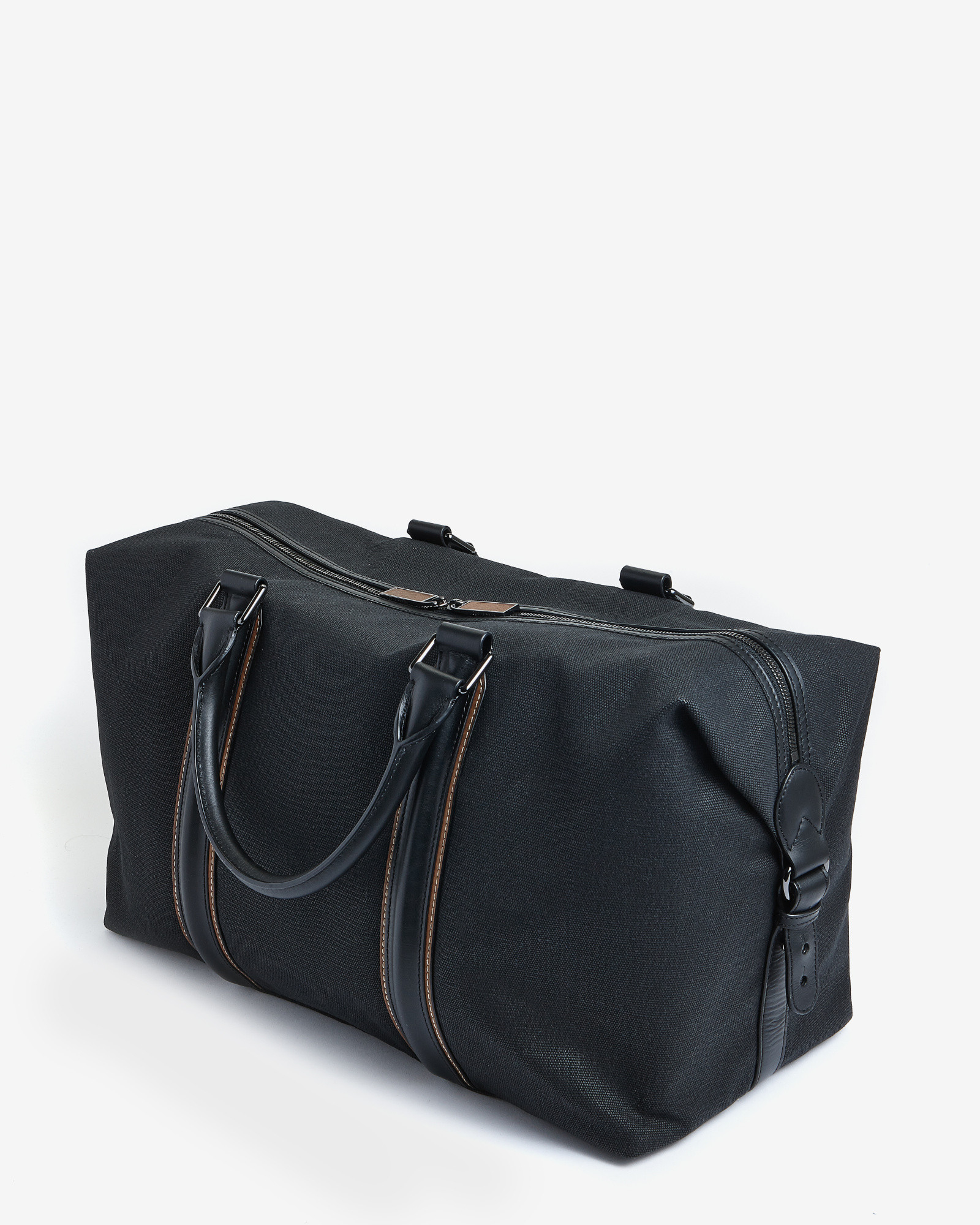 Ted baker Canvas And Leather Holdall in Black for Men