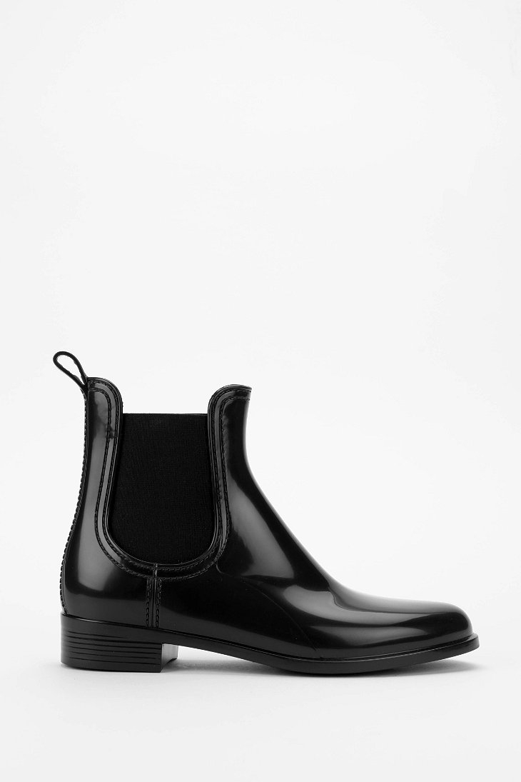 c312cd98bfb Lyst - Jeffrey Campbell Forecast Rain Boot in Black
