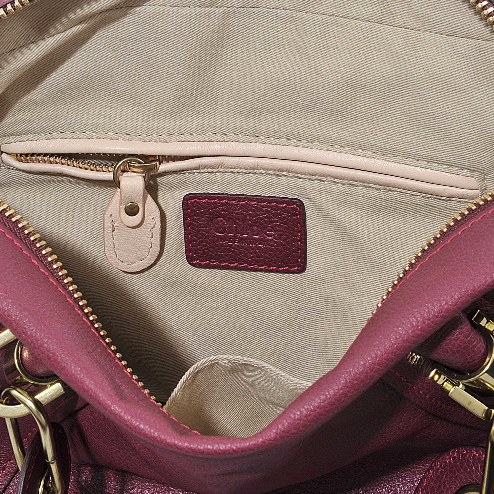 Chlo�� Paraty Medium Double Carry Bag in Pink | Lyst