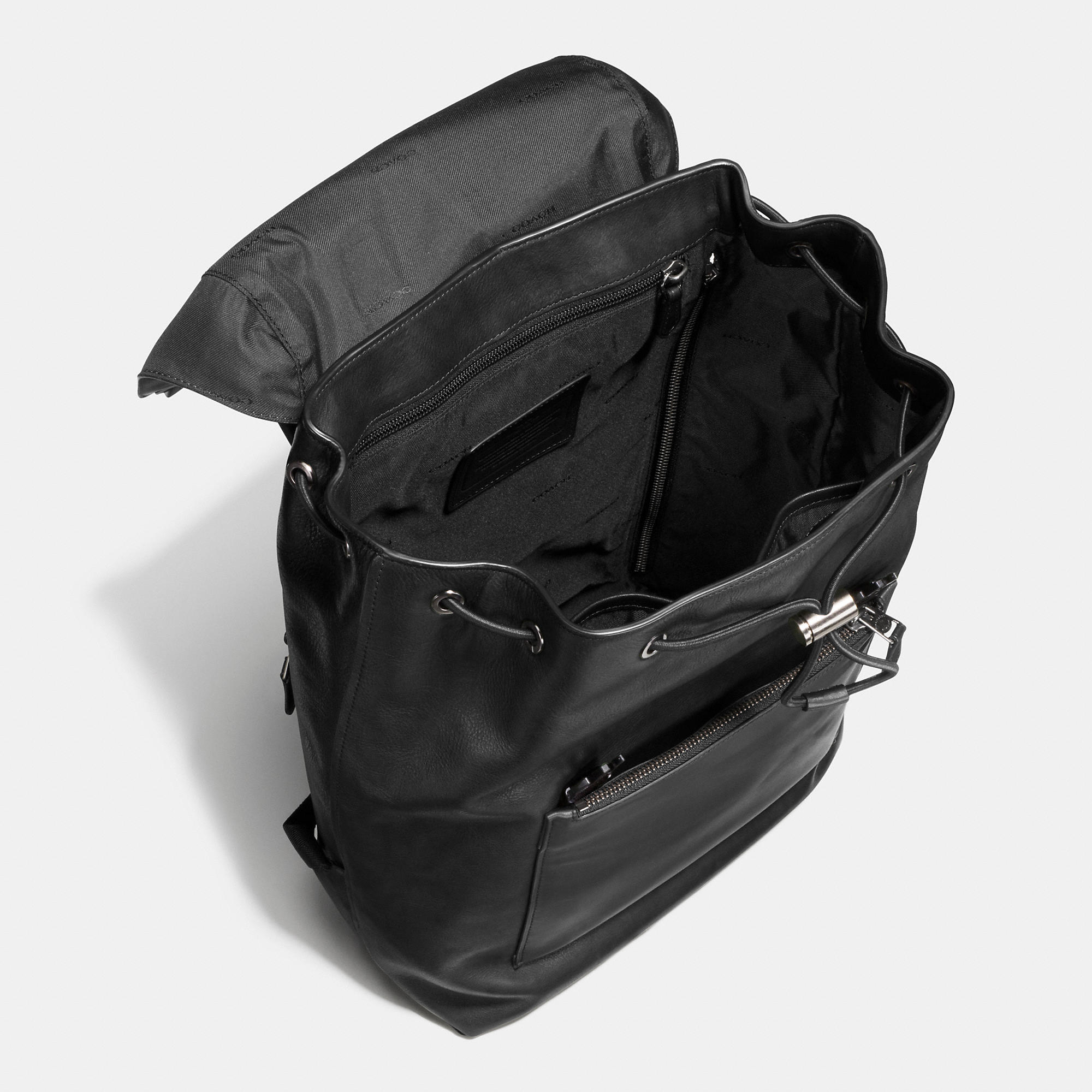 Lyst - COACH Manhattan Backpack In Leather for Men b533517011765