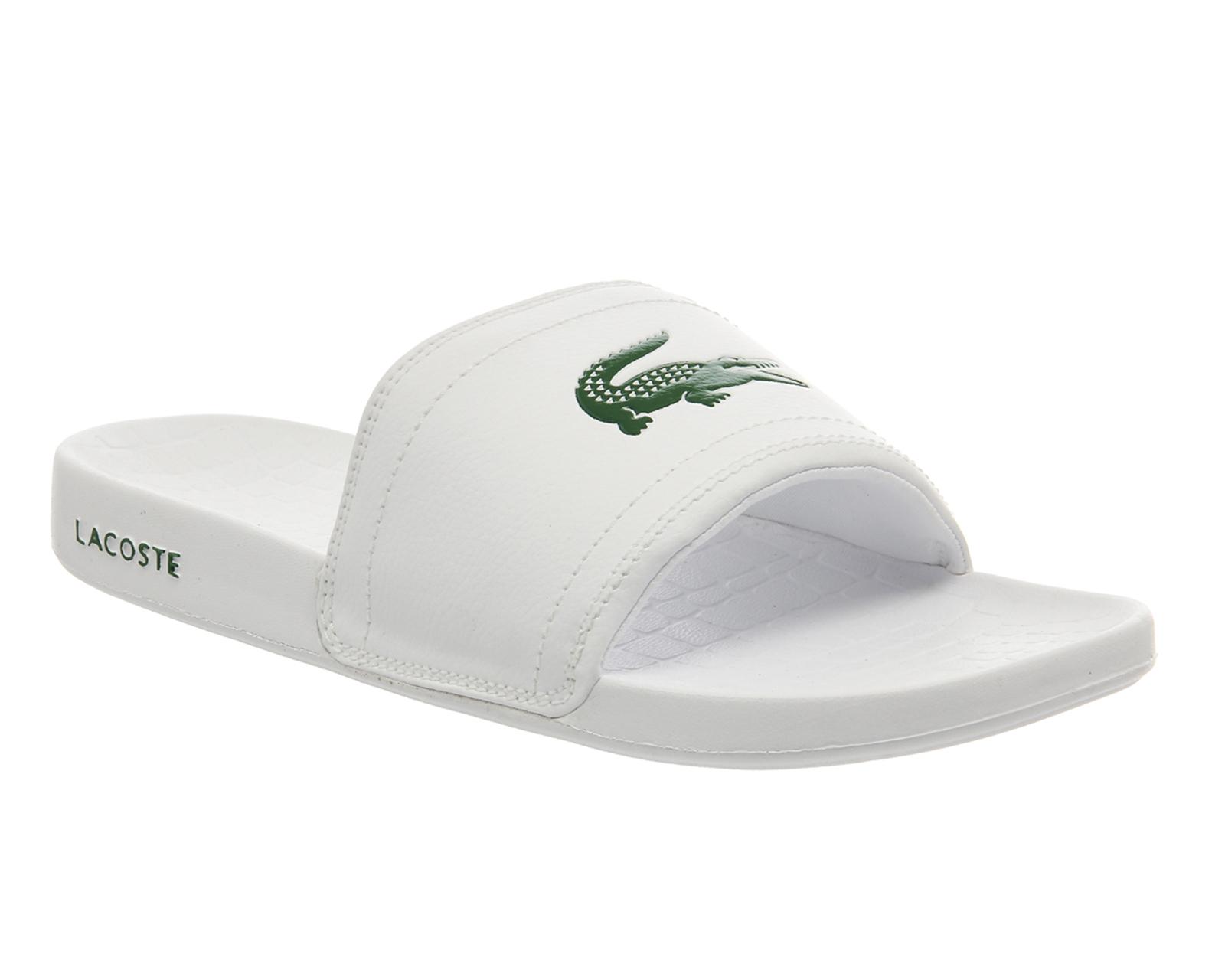 Lyst Lacoste Frasier Slide In White For Men