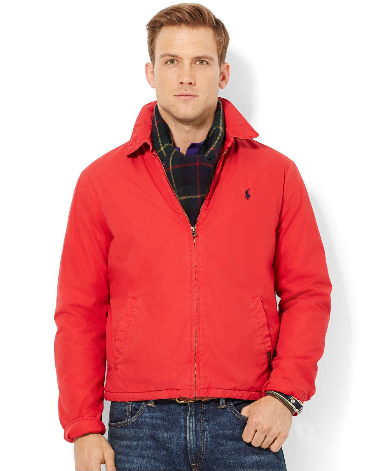 fd0f7bdacd Polo Ralph Lauren Red Landon Windbreaker for men