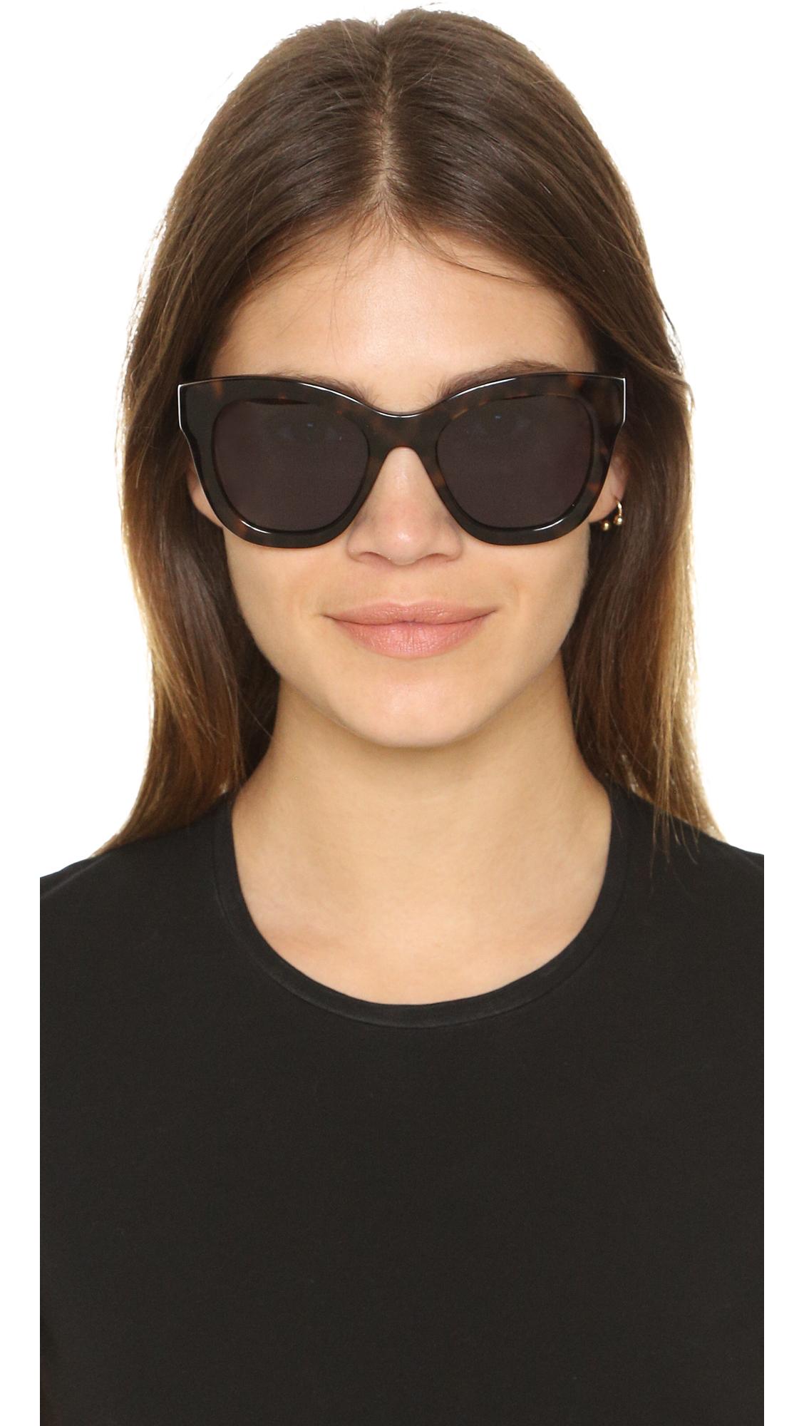 lyst elizabeth and james bryant sunglasses in black. Black Bedroom Furniture Sets. Home Design Ideas
