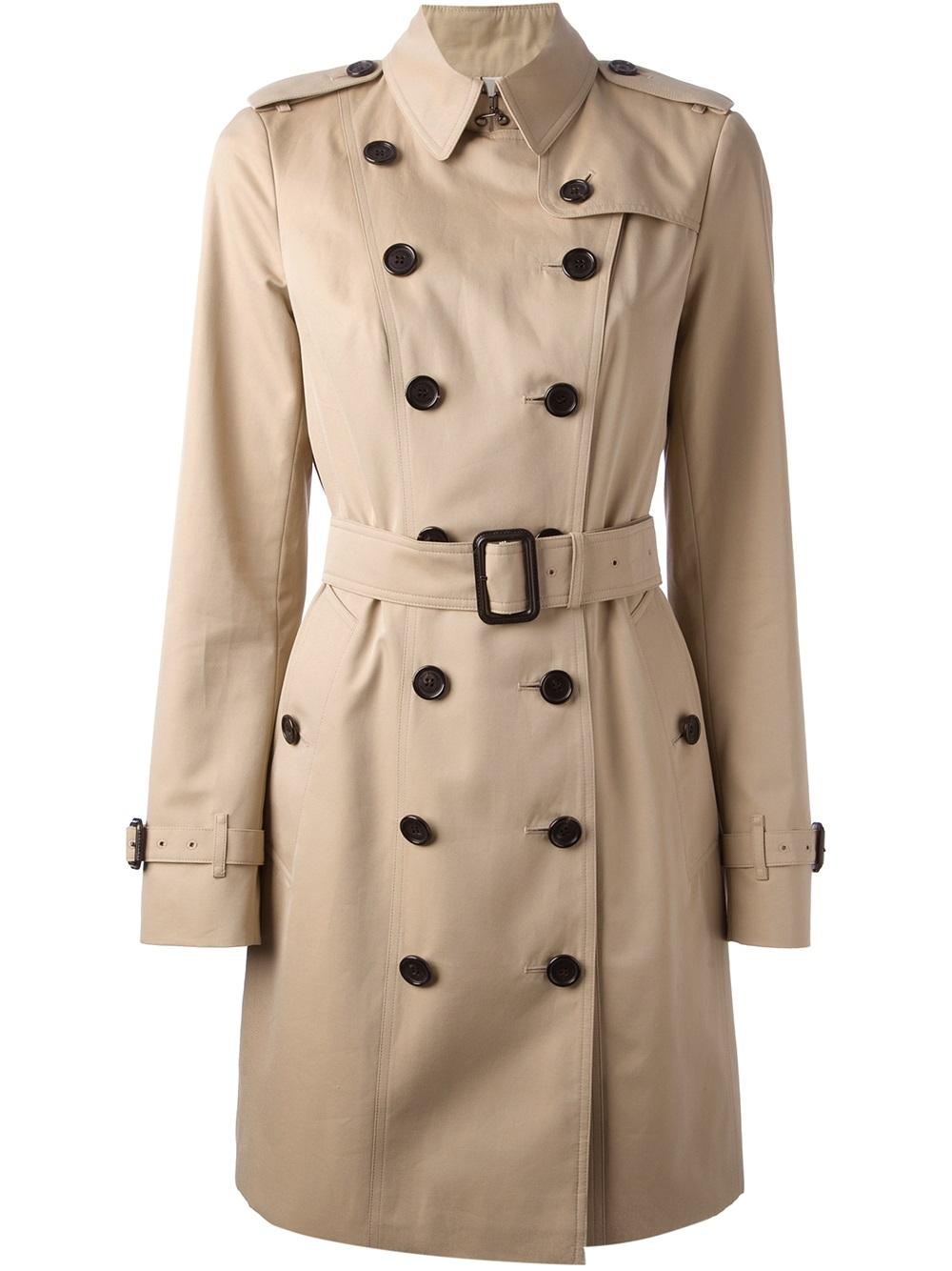 burberry london 39 queensbury 39 trench coat in beige nude. Black Bedroom Furniture Sets. Home Design Ideas
