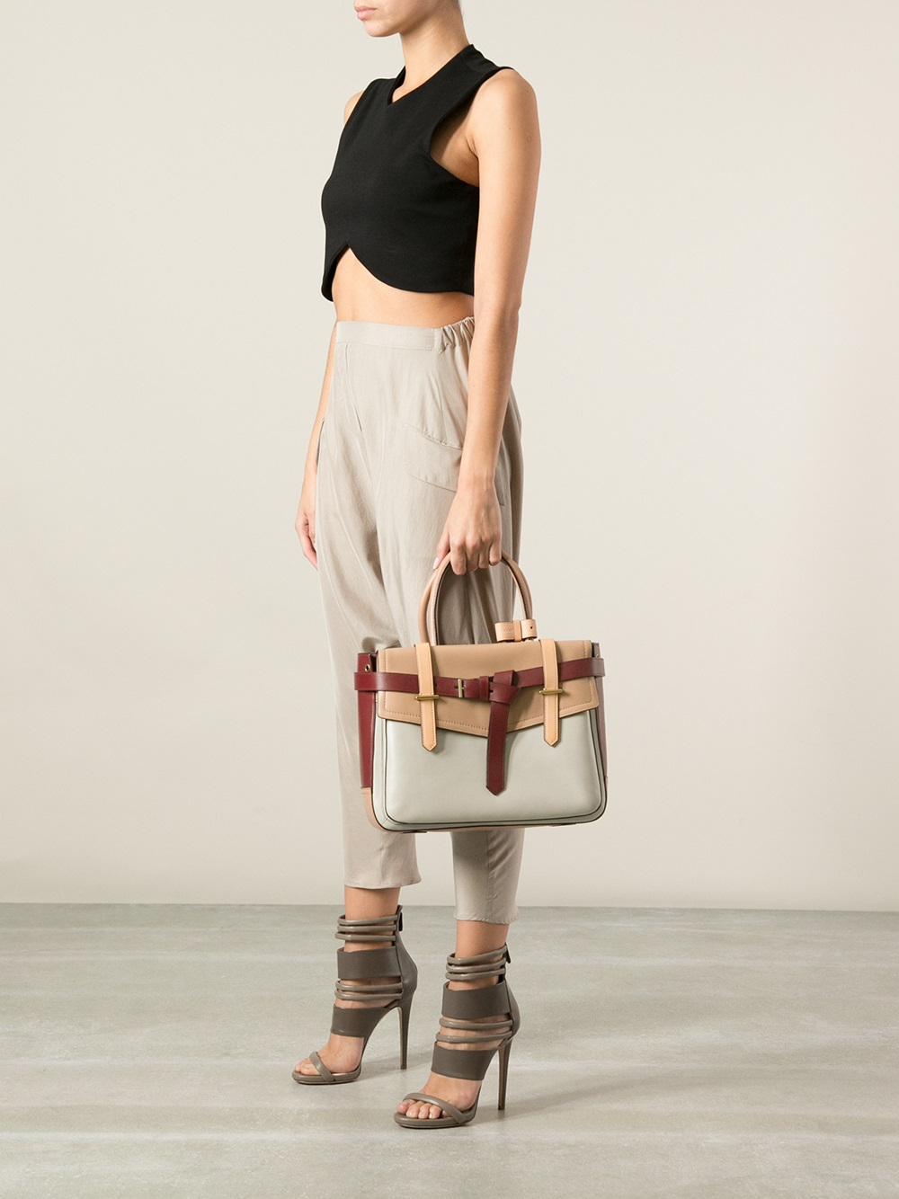 Reed Krakoff Boxer Tote in Grey