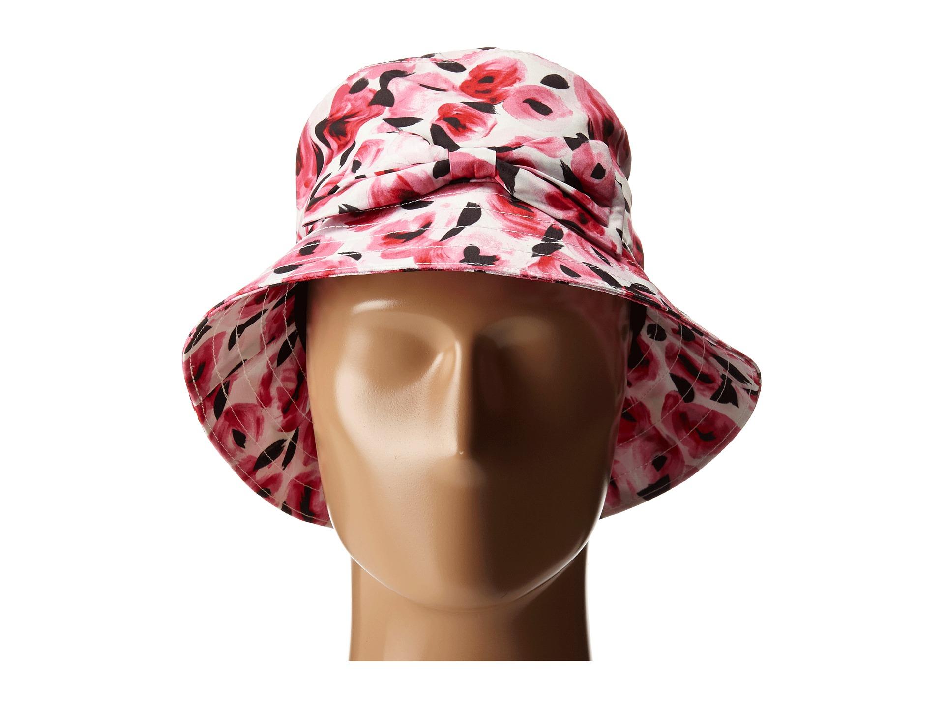 c45b2cd793a Lyst kate spade new york printed rain bucket hat in pink jpg 1920x1440  Printed rain hats