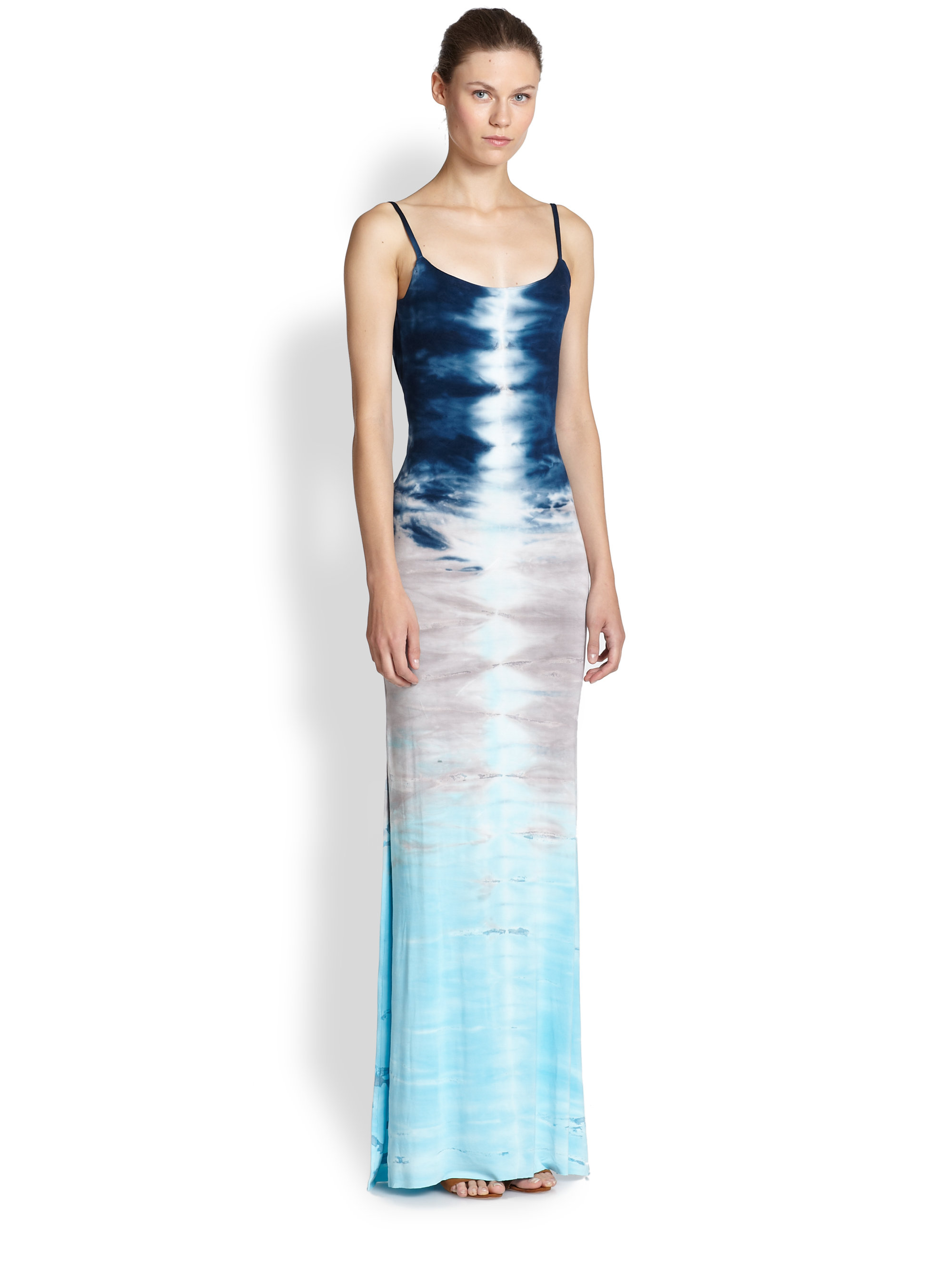 Young fabulous & broke Tie-Dye Maxi Dress in Blue | Lyst