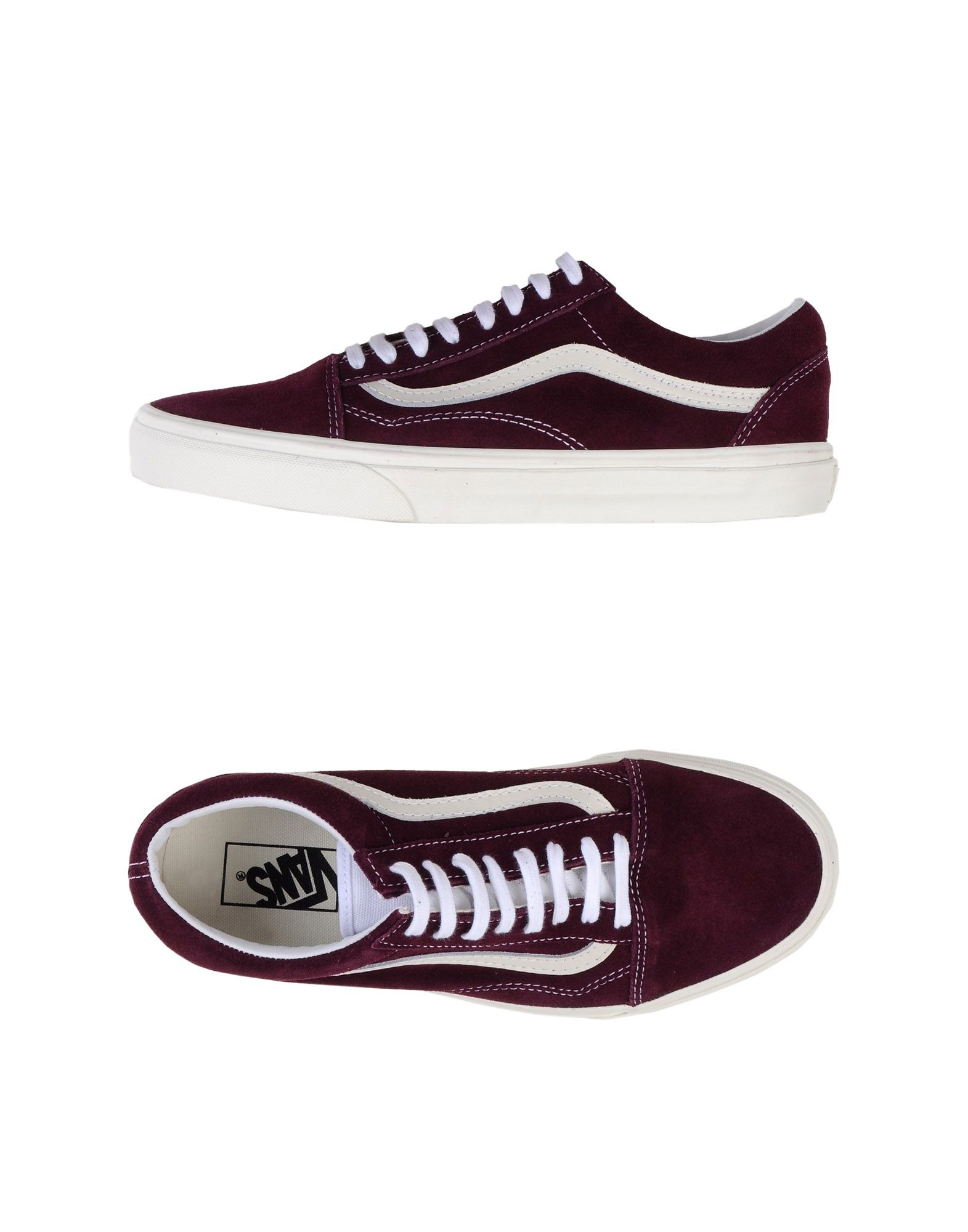 vans low tops trainers in purple for men save 30 lyst. Black Bedroom Furniture Sets. Home Design Ideas