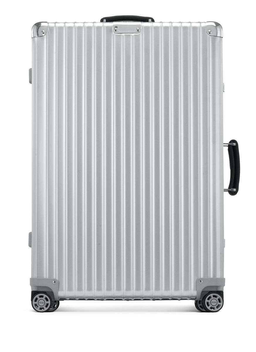 rimowa classic flight multiwheel silver 104 litre in. Black Bedroom Furniture Sets. Home Design Ideas