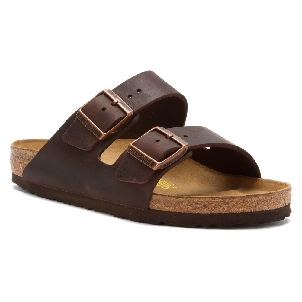 Birkenstock Shoes Arizona Black Oiled Leather