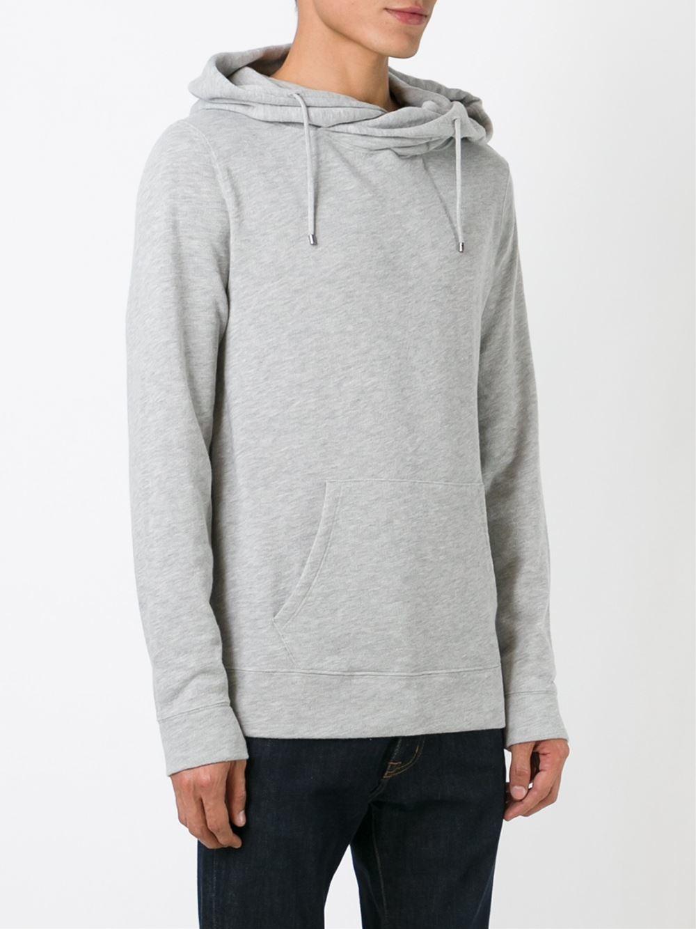 ralph lauren hooded sweatshirt in gray for men grey lyst. Black Bedroom Furniture Sets. Home Design Ideas