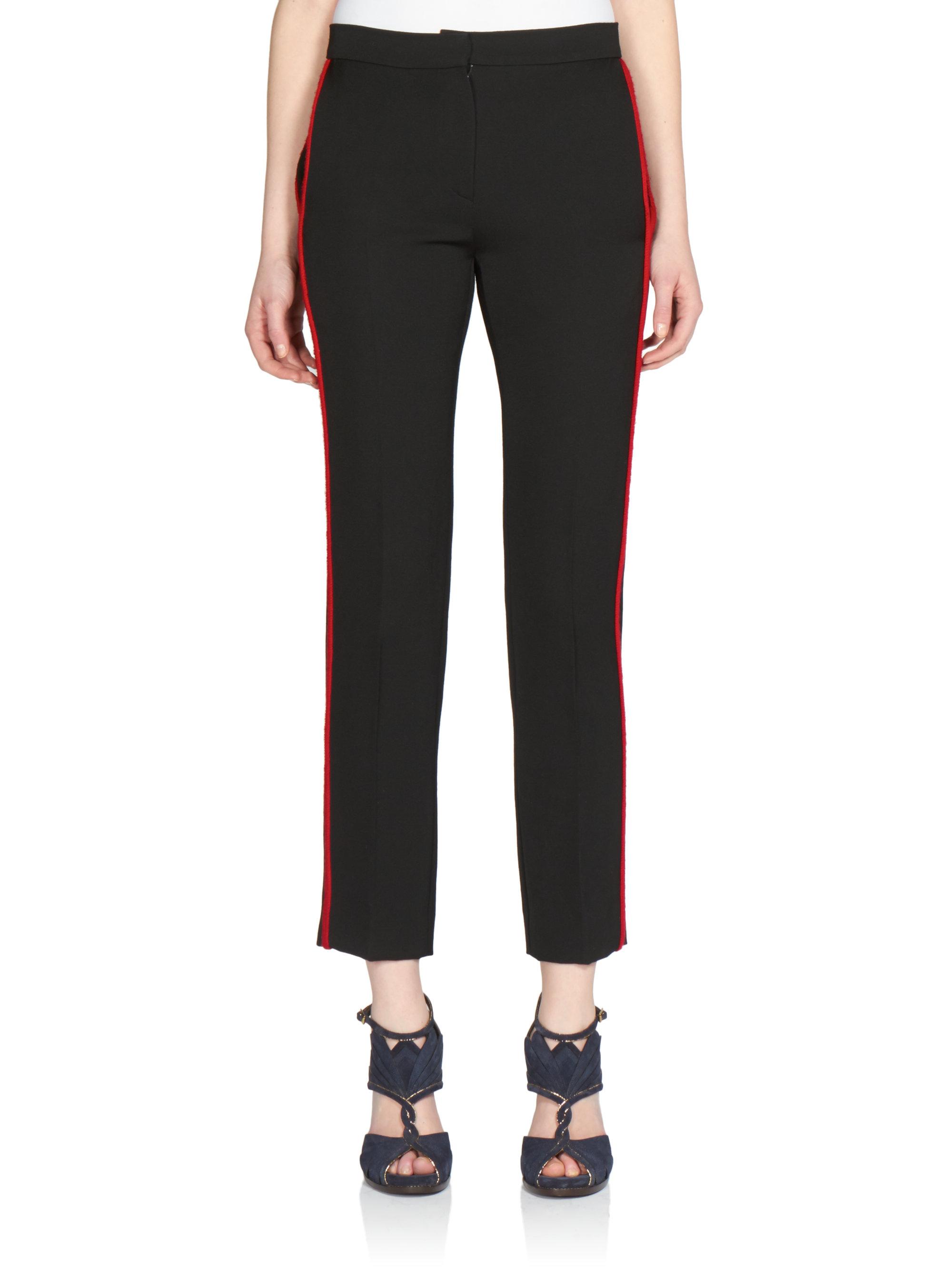 Creative Basic Essentials  Women Lime Green Black Tuxedo Skinny Jean Pants