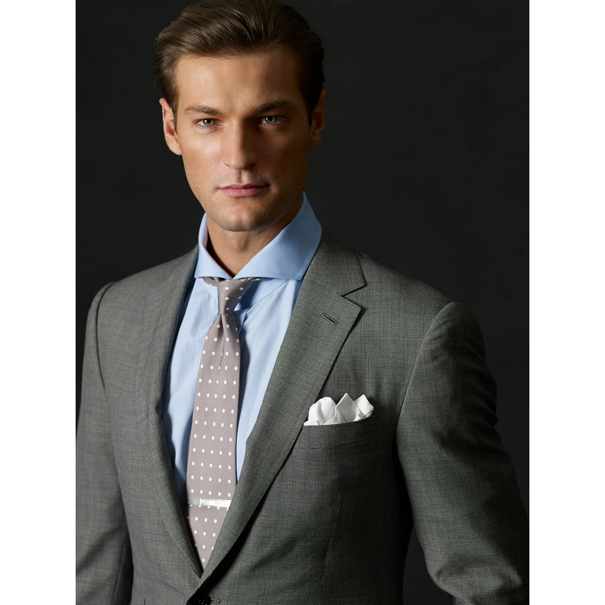 Lyst - Ralph Lauren Purple Label Custom-Fit Deco Suit in Black for Men