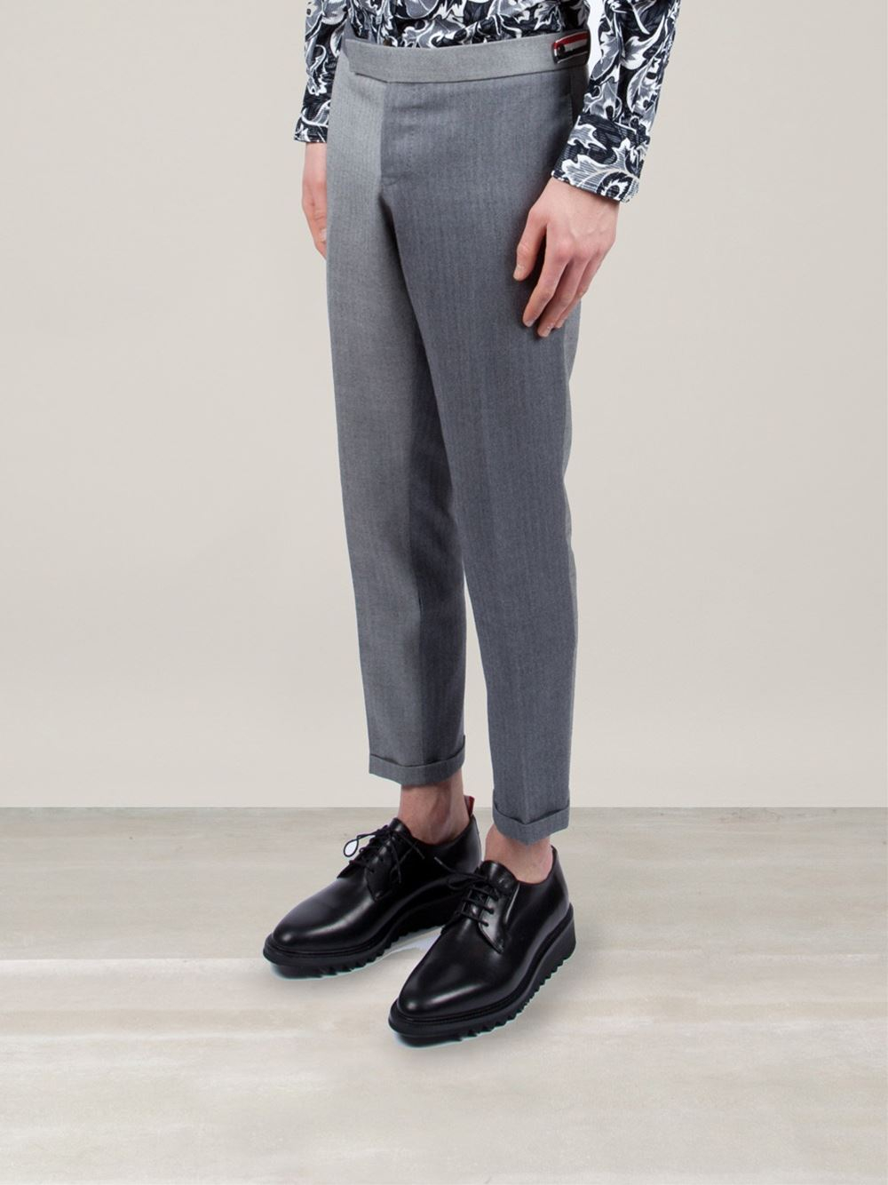 tailored trousers - Blue Thom Browne i46Zg2YZtv