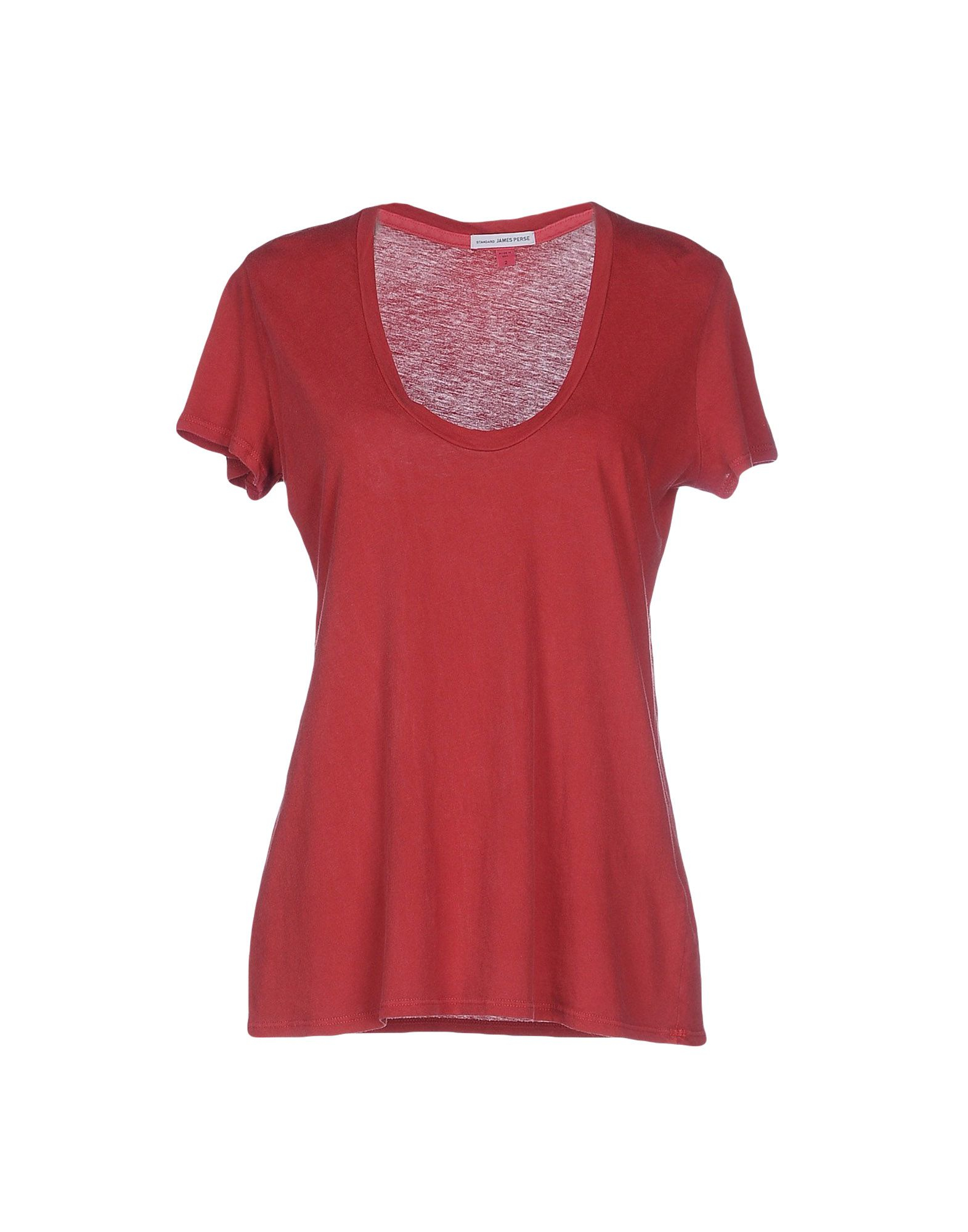 James perse t shirt in red save 37 lyst for James perse t shirts sale