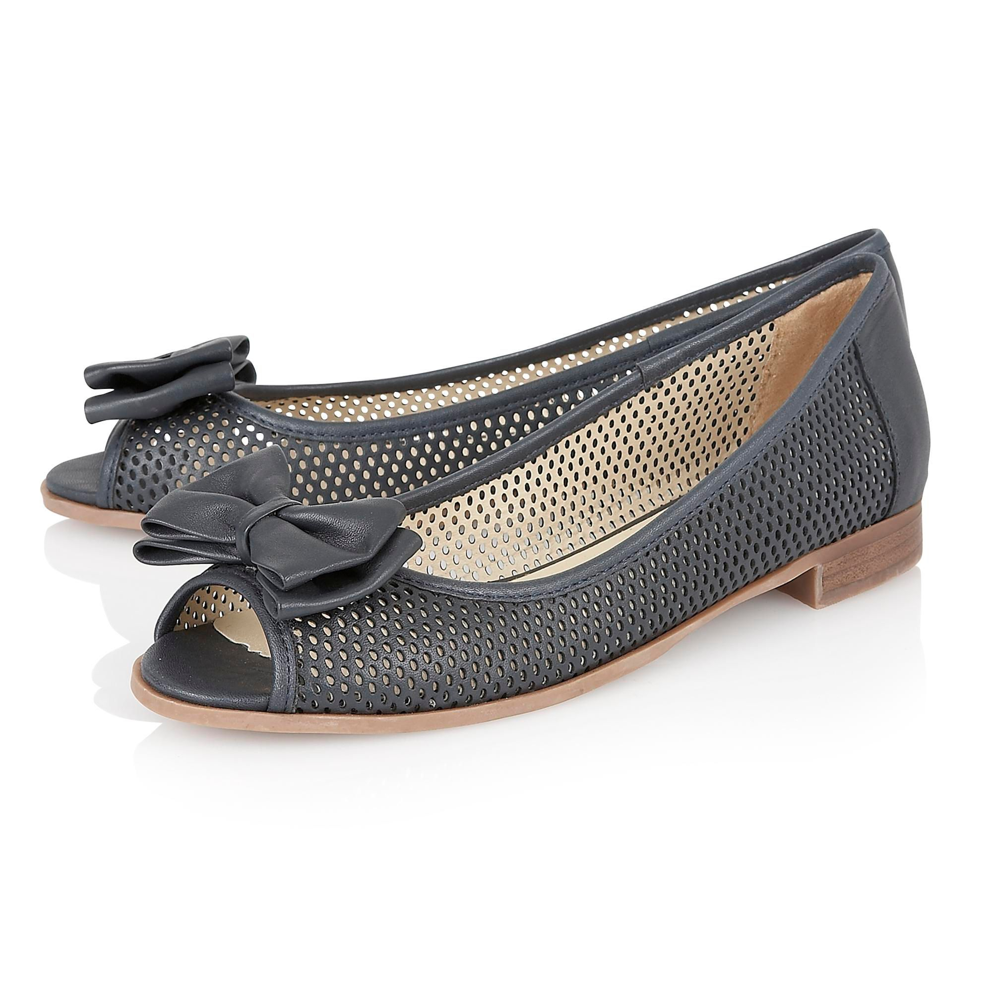 Navy Blue Flat Shoes Canada