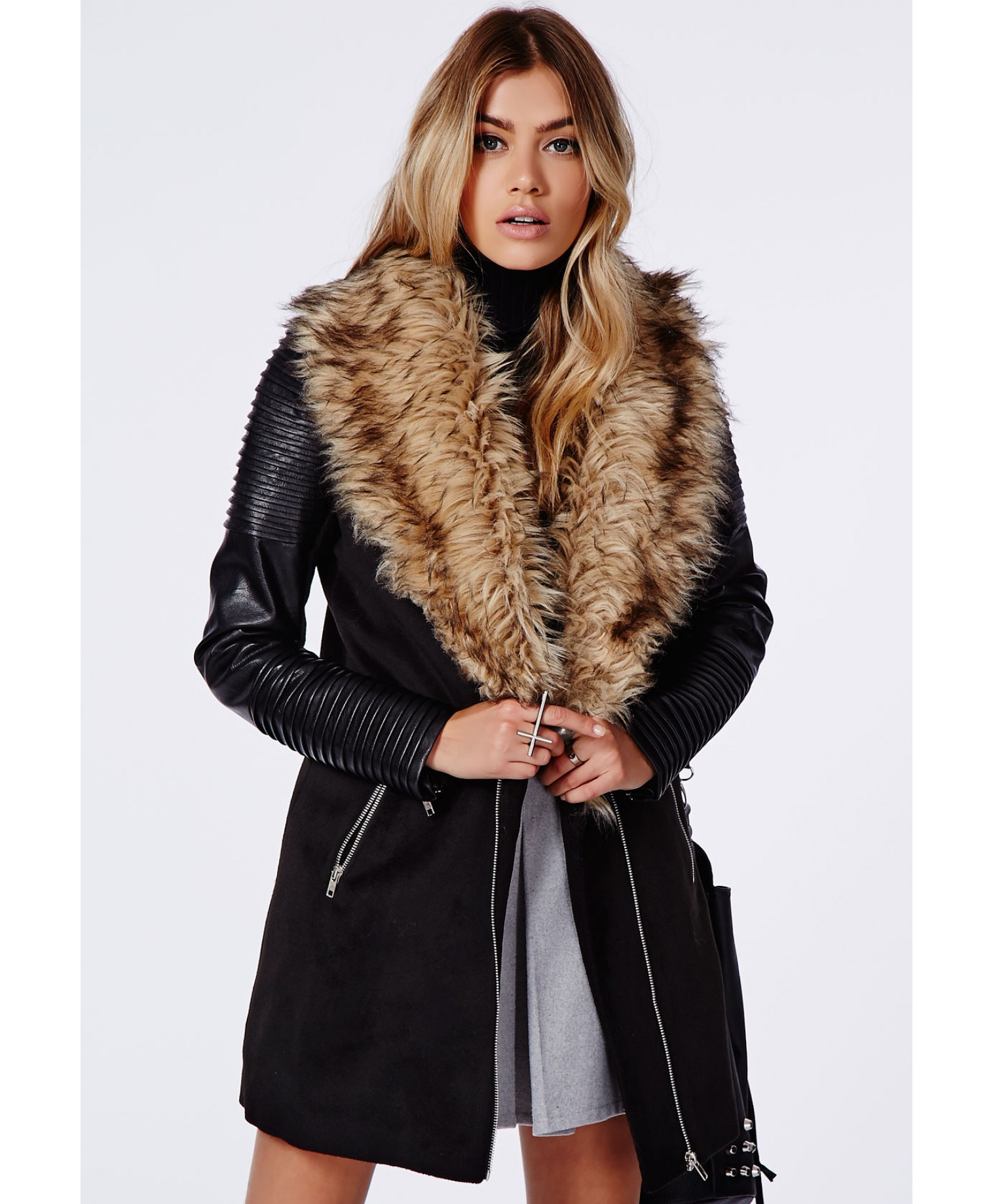paydayloansonlinesameday.ga offers a large selection of discount cheap faux fur coat at a fraction of the retail price. search. 1. Vintage Dresses; 2. Fresh Style Hooded Long Sleeve Soft Faux Fur Zippered Coat For Women - Grey And White M. Long Sleeve Asymmetrical Faux Leather Jacket with Fur Collar - Brown S. Quick Shop.