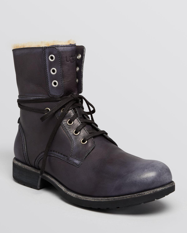 7b114eb5054 Ugg Black Combat Boots - cheap watches mgc-gas.com