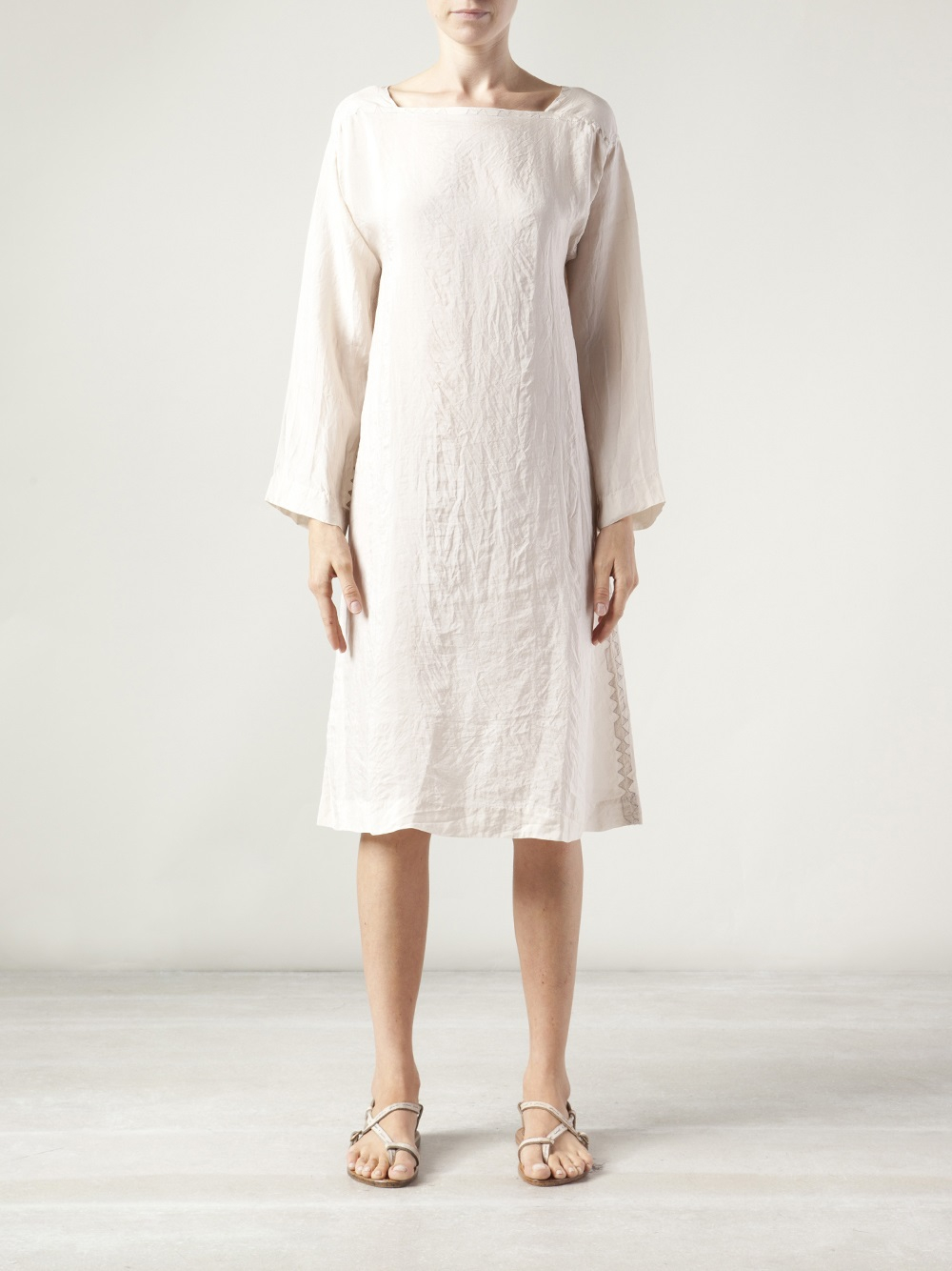 Dosa Tunic Dress In White Lyst