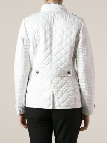 Burberry Brit Willsmoore Quilted Jacket In White Lyst