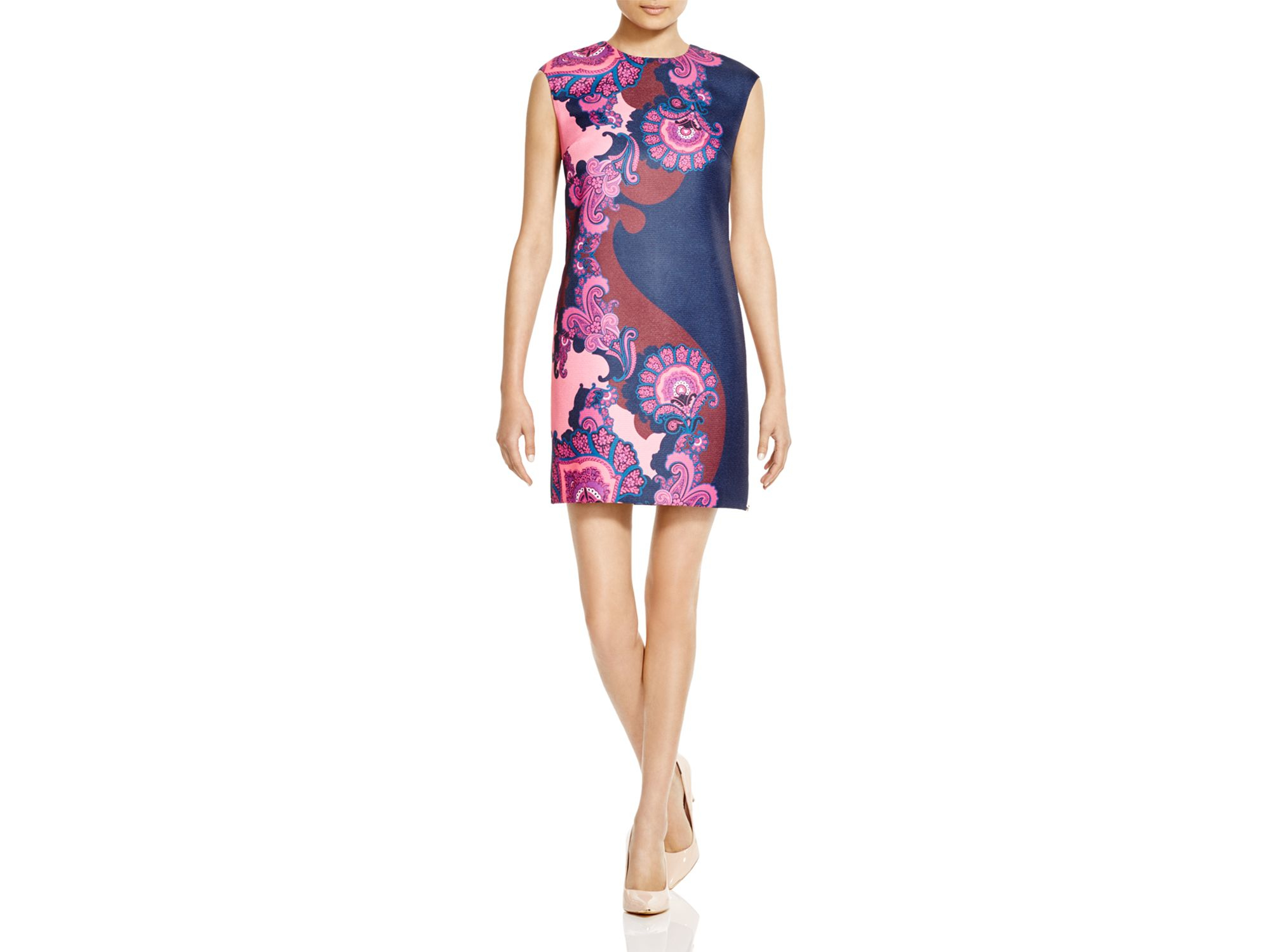 9bfe5c2762e0 Ted Baker Maissey Paisley Shift Dress - Bloomingdale's Exclusive in ...