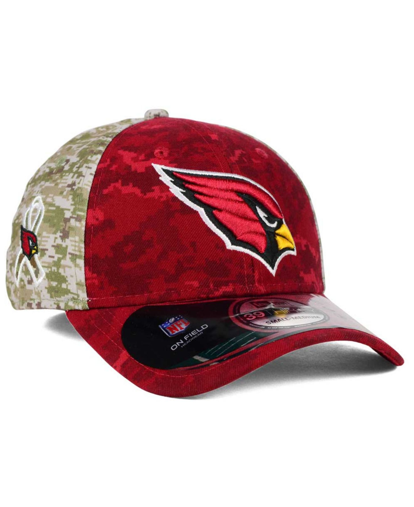 563aa3cb276 ... new era nfl 39thirty 2017 sideline quotsalute to servicequot hat 7c6e8  ddb34  coupon for lyst ktz arizona cardinals salute to service 39thirty cap  in ...