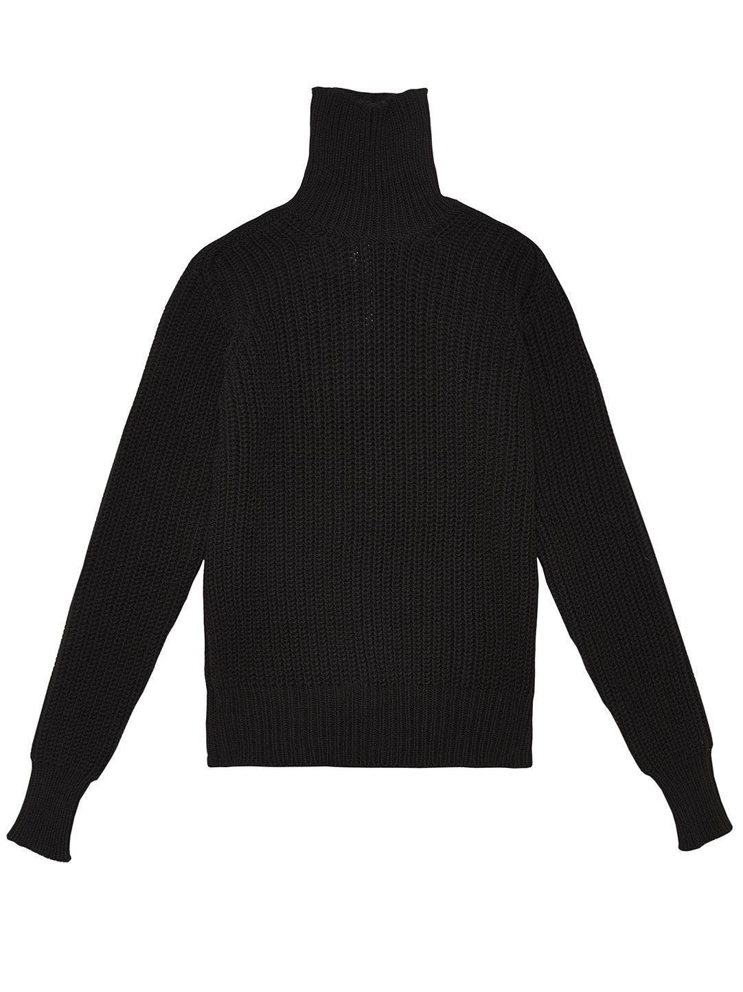 Rick owens Mens High Neck Sweater in Black for Men | Lyst