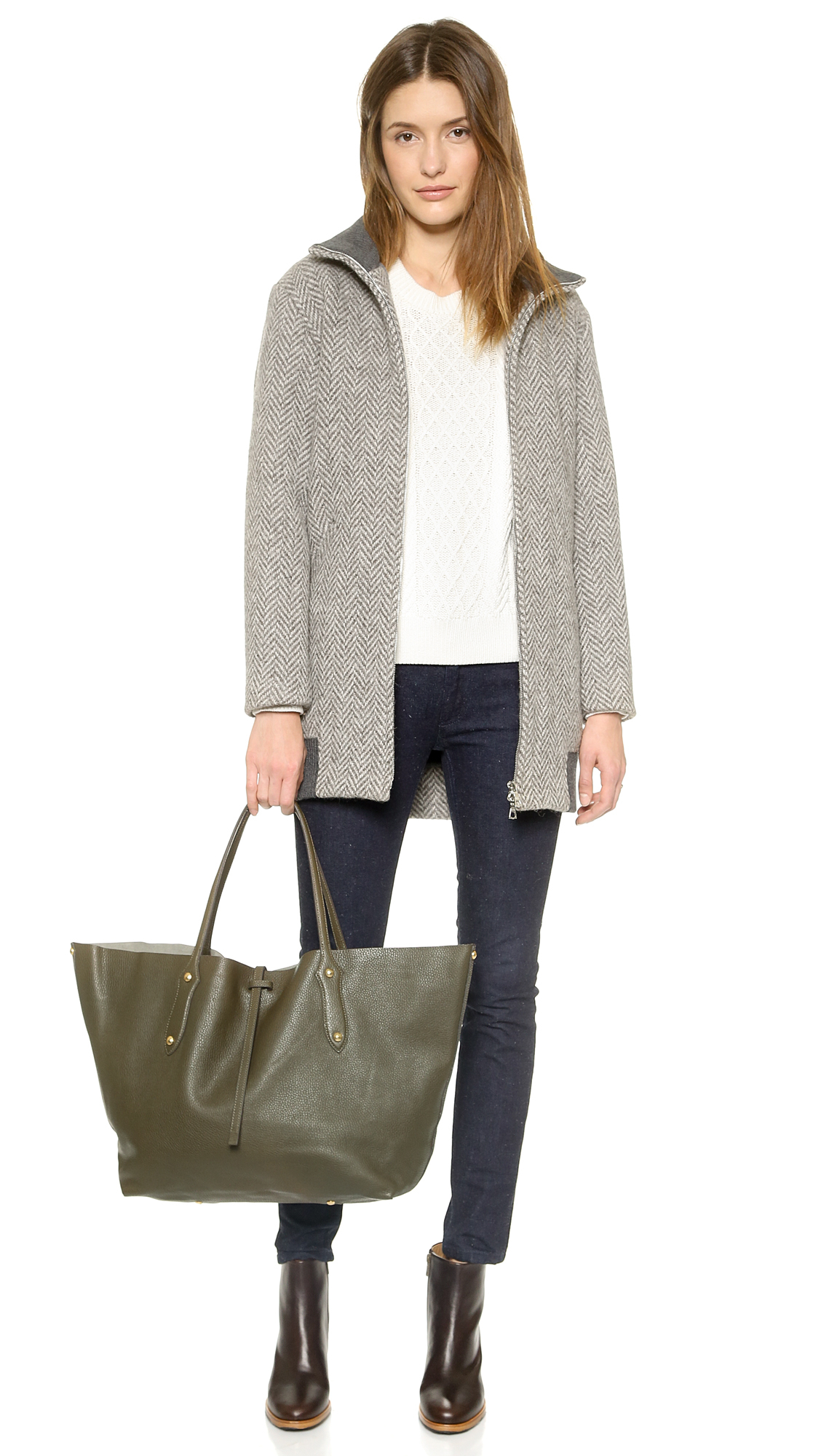Lyst - Annabel Ingall Annabel Ingall - Military in Metallic 60e03c18104df