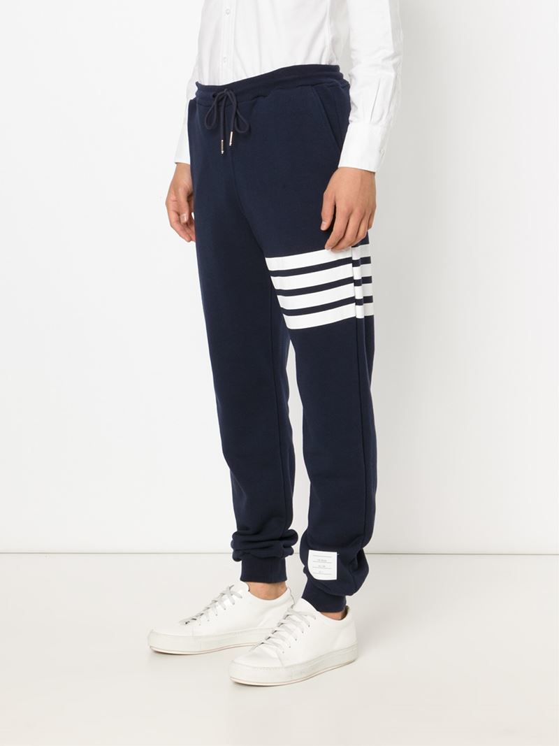 Lyst Thom Browne Signature Stripe Track Pants In Blue