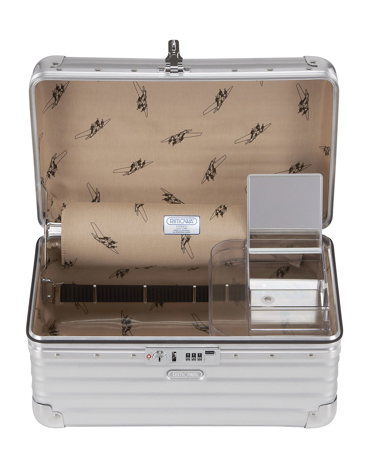 rimowa classic flight beauty case in metallic lyst. Black Bedroom Furniture Sets. Home Design Ideas