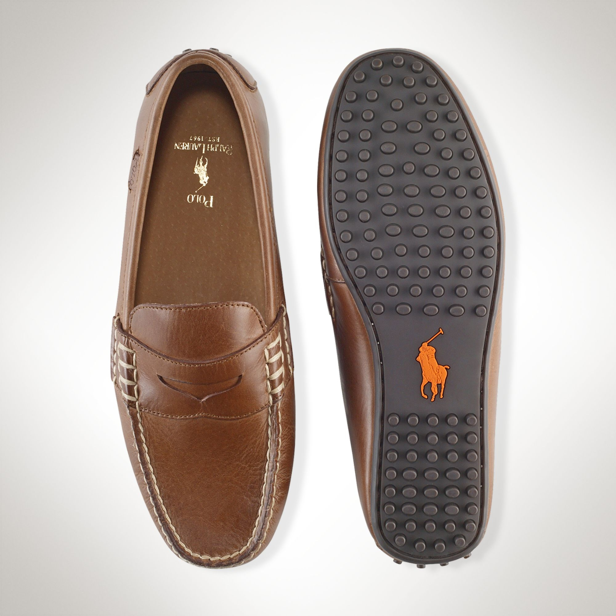 Polo Ralph Lauren Leather Wes Penny