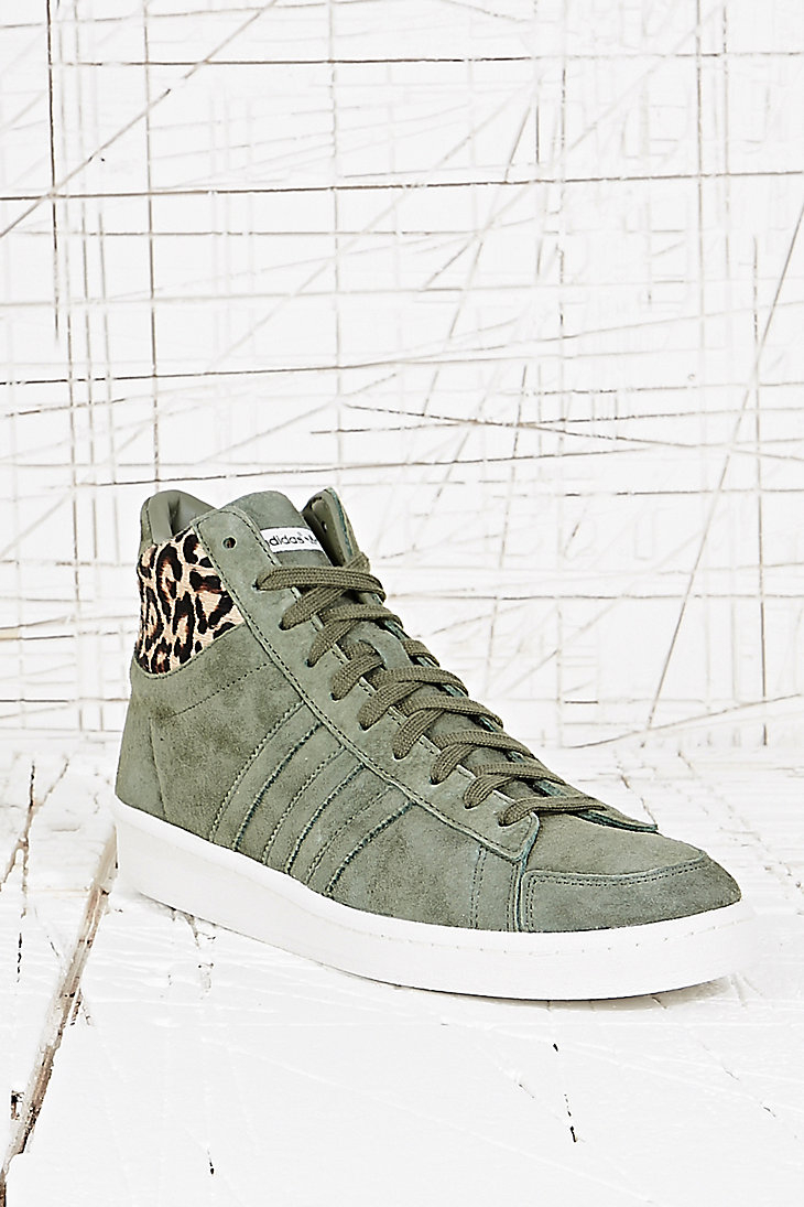 adidas Tech Super 20 St Major Trainers in Leopard in Khaki (Natural) for Men