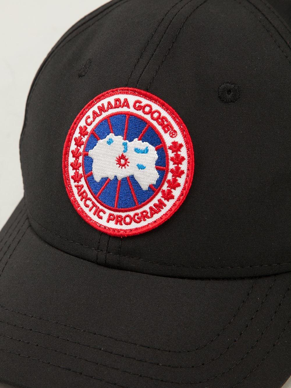 42eefcaec80 Lyst - Canada Goose Ball Cap in Black for Men