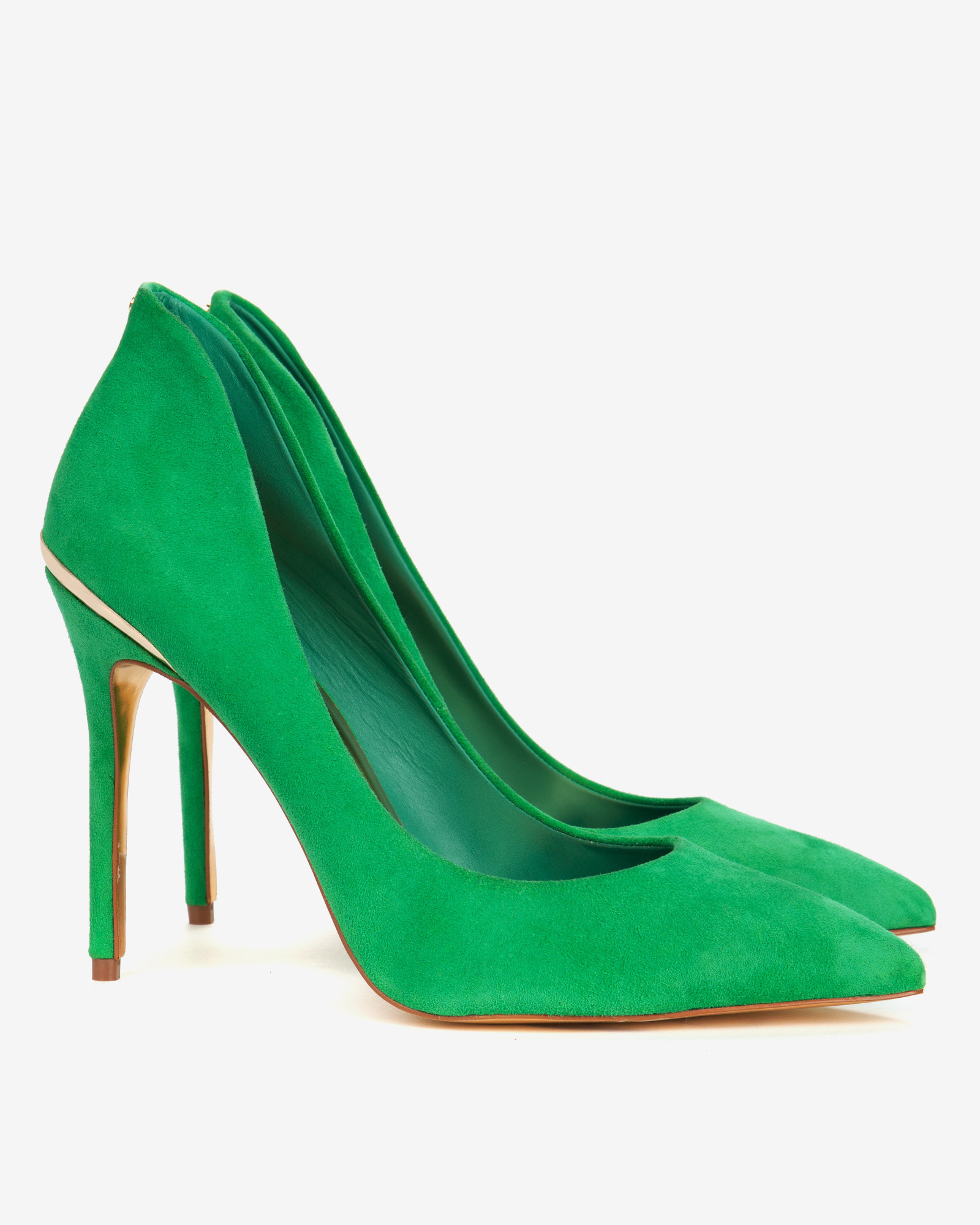 Ted Baker Suede High Back Court Shoes