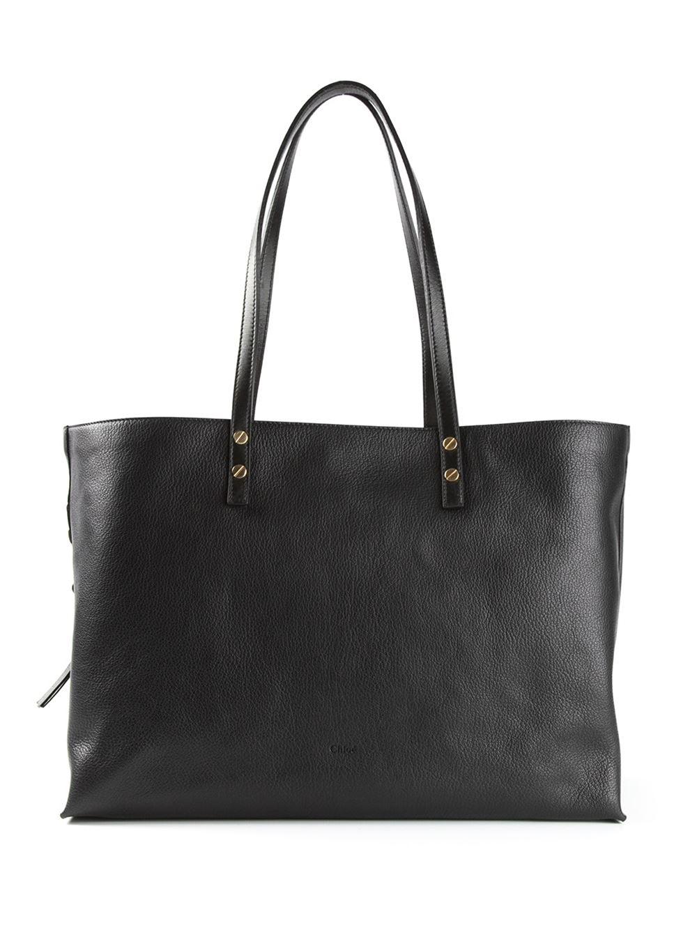 Chloé 'dilan' Shopper Tote in Black