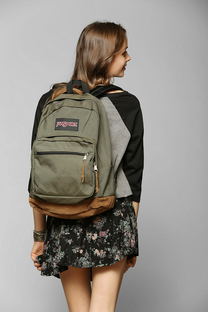 Lyst Jansport Basic Backpack In Green