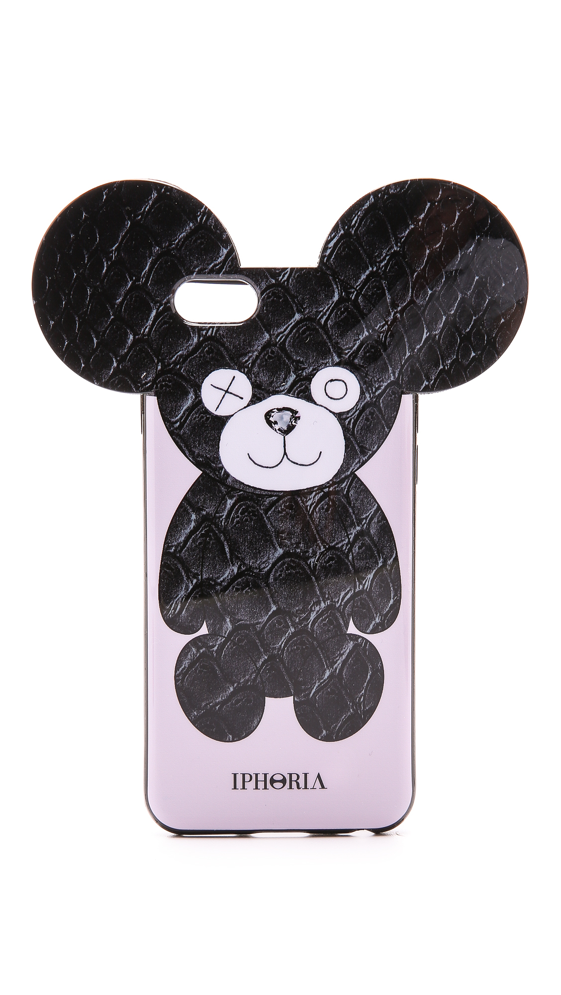 iphoria snake teddy iphone 6 6s case in black lyst. Black Bedroom Furniture Sets. Home Design Ideas