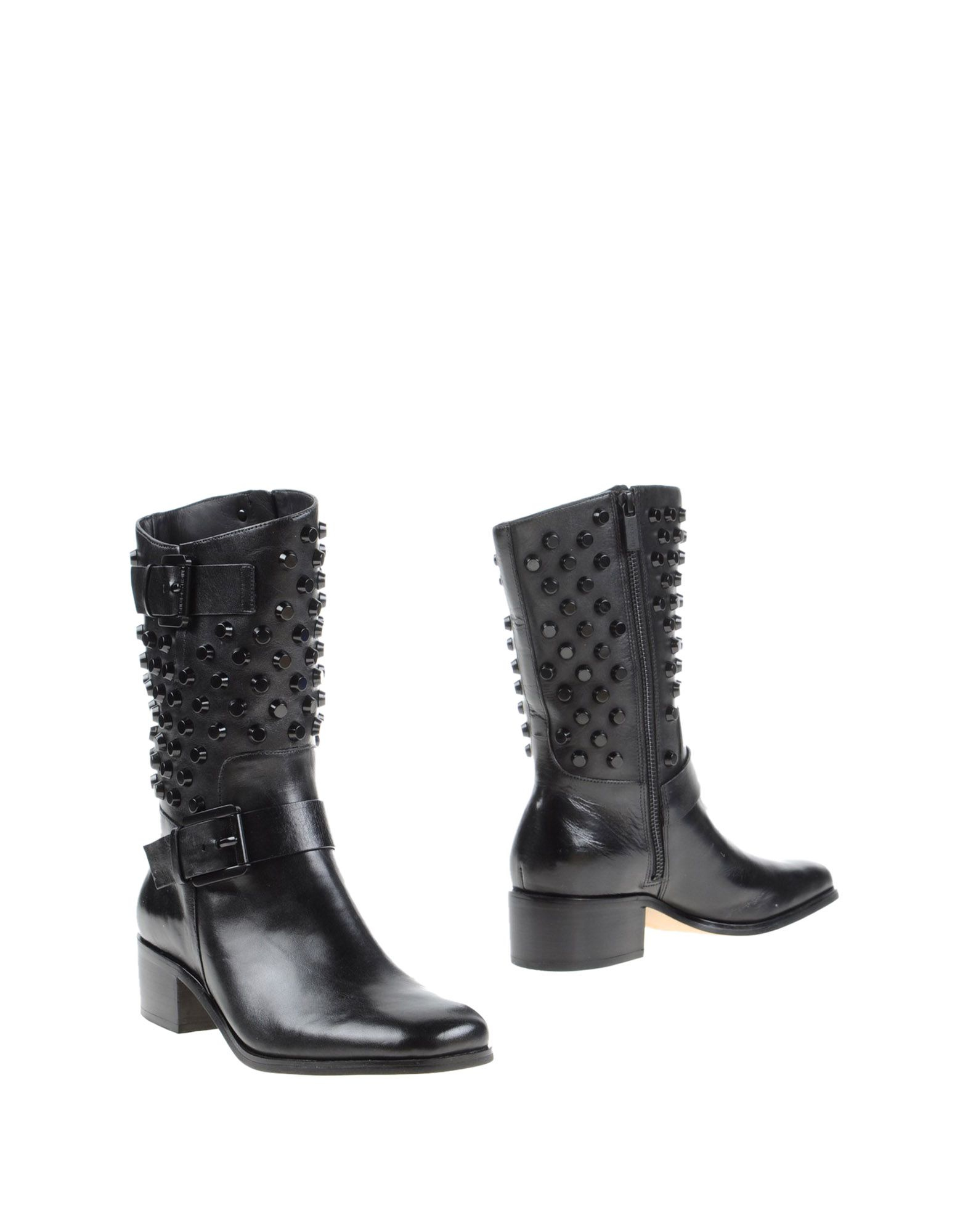 lyst michael michael kors ankle boots in black. Black Bedroom Furniture Sets. Home Design Ideas