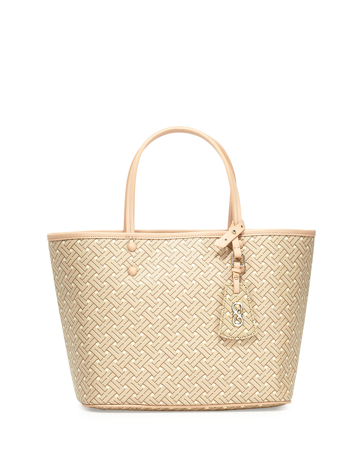 938efb6eb Cole Haan Signature-weave Small Tote Bag in Natural - Lyst