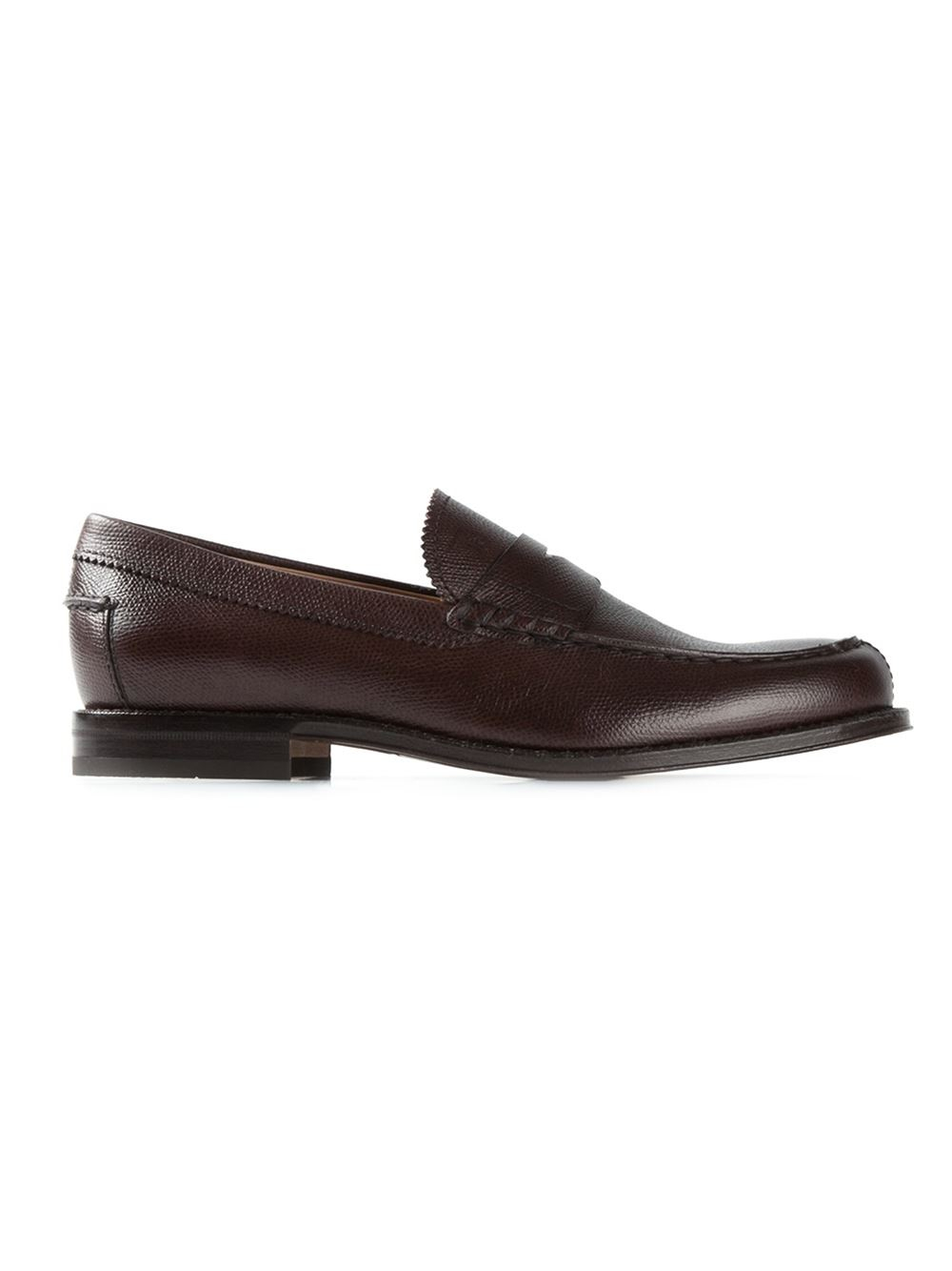 Tod S Classic Penny Loafers In Brown For Men Lyst