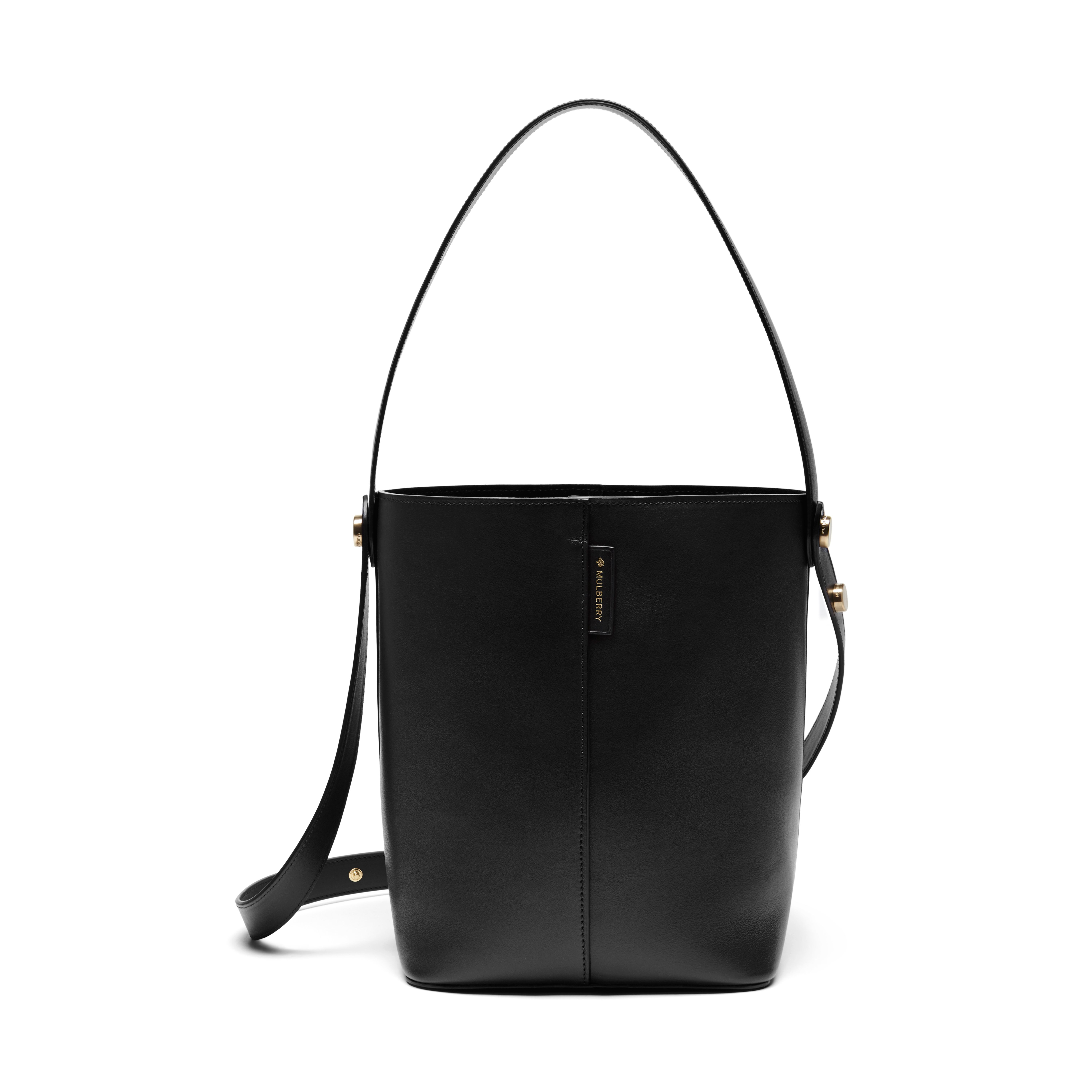 5079e826e0 Mulberry Kite Small Leather Shoulder Bag in Black - Lyst